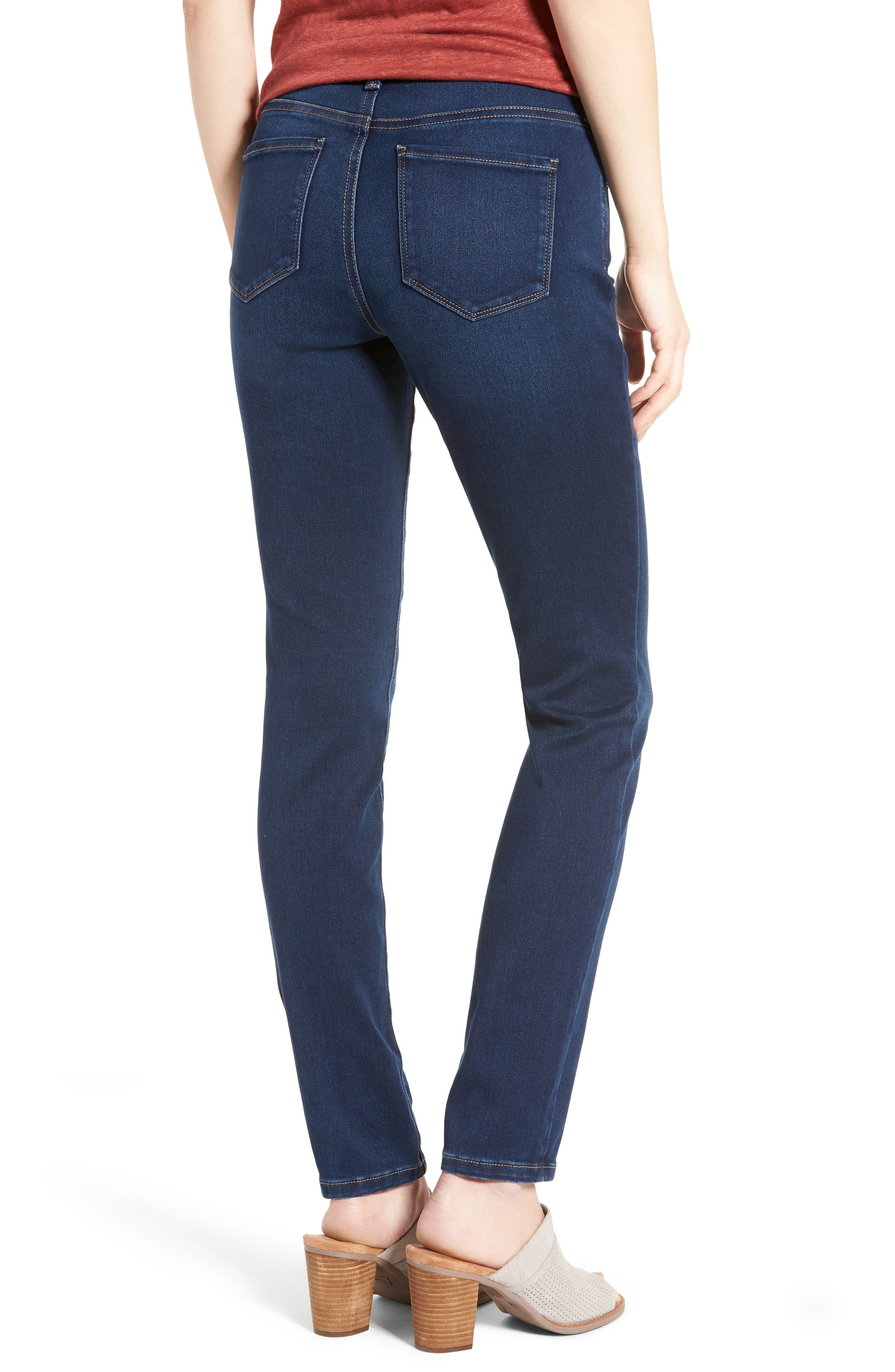 Alina Stretch Skinny Jeans,                             Alternate thumbnail 2, color,                             Luxembourg