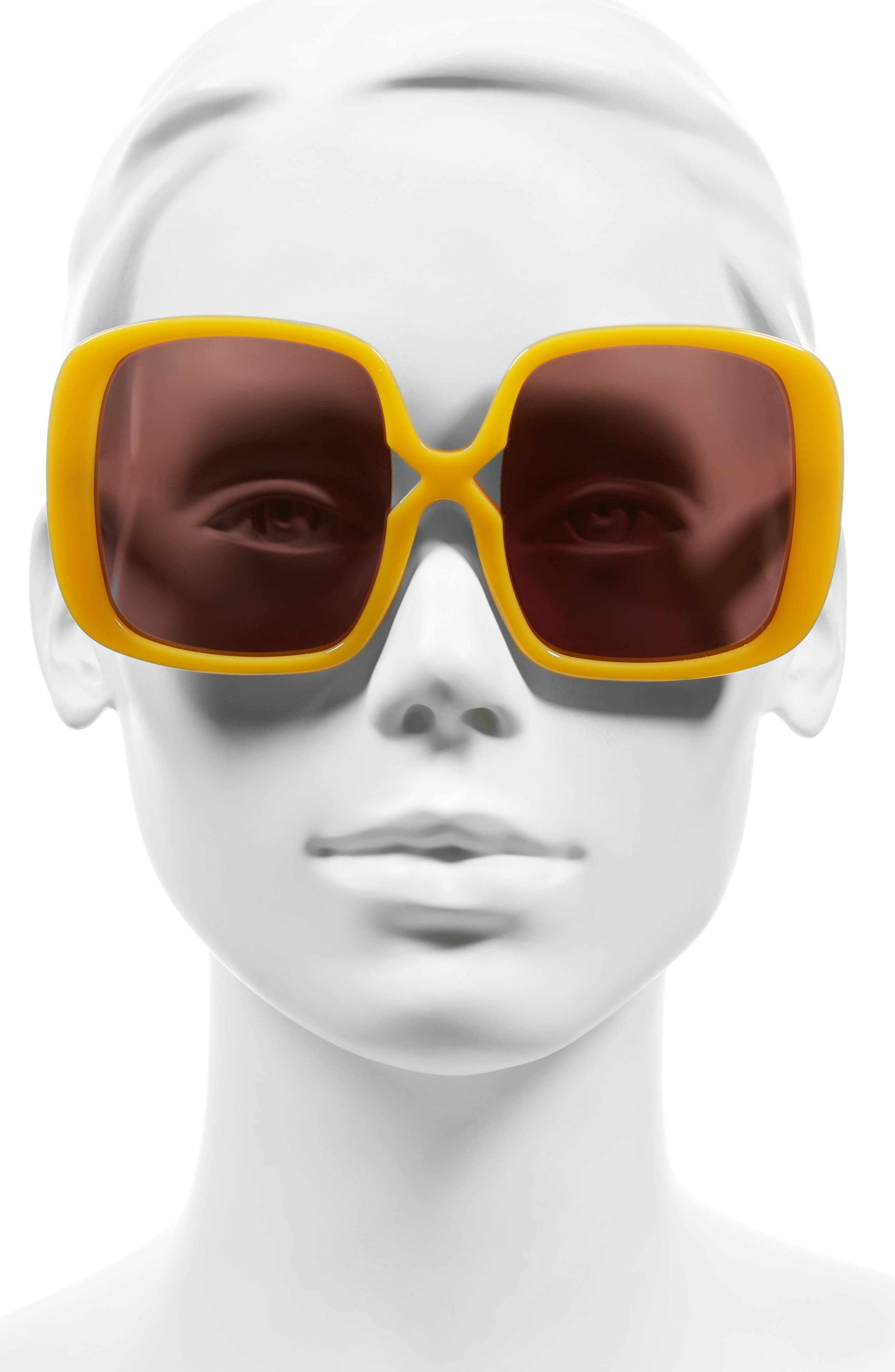 Alternate Image 2  - Karen Walker Marques 55mm Square Sunglasses