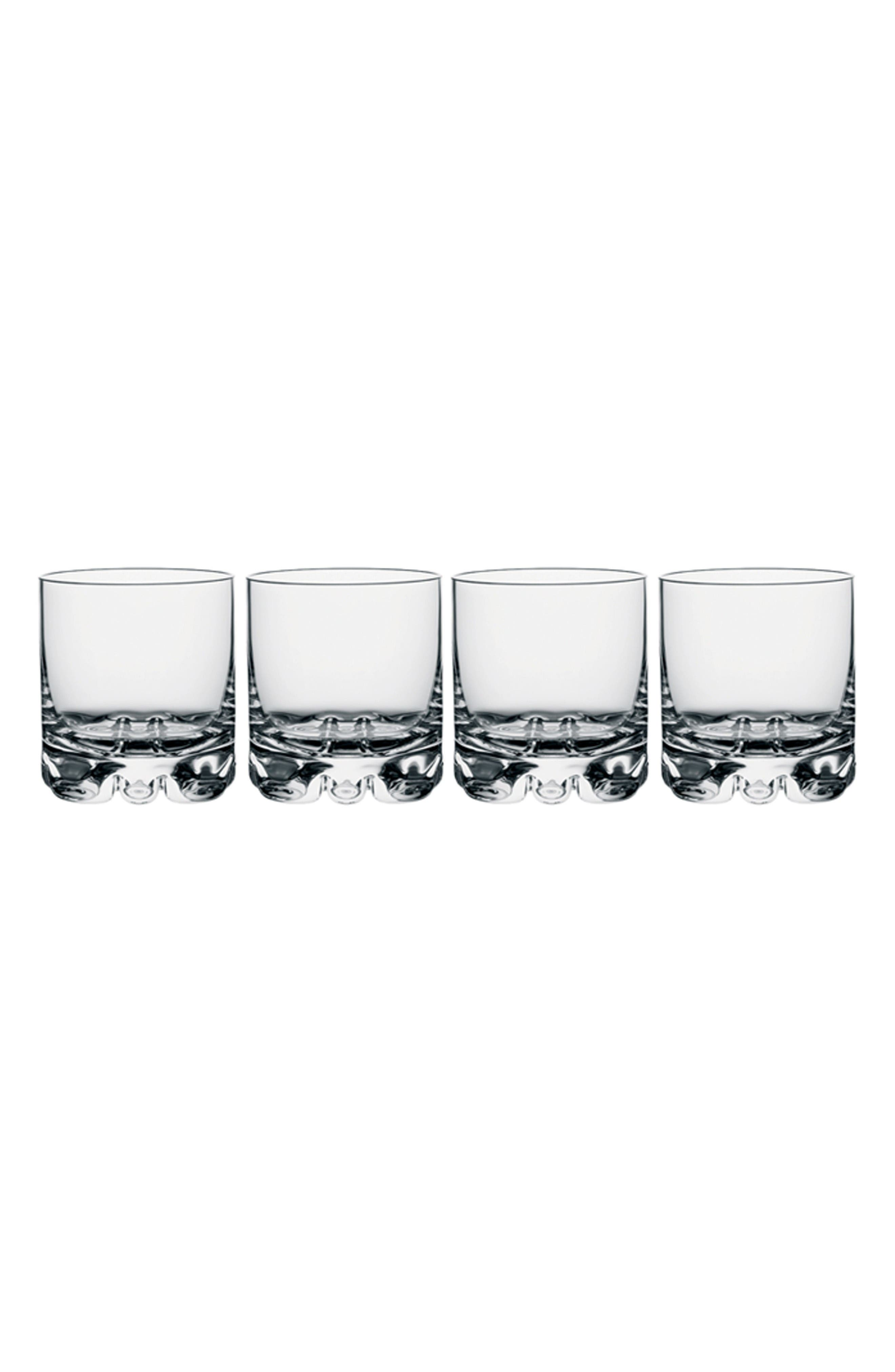 Erik Set of 4 Double Old Fashioned Glasses,                         Main,                         color, Clear