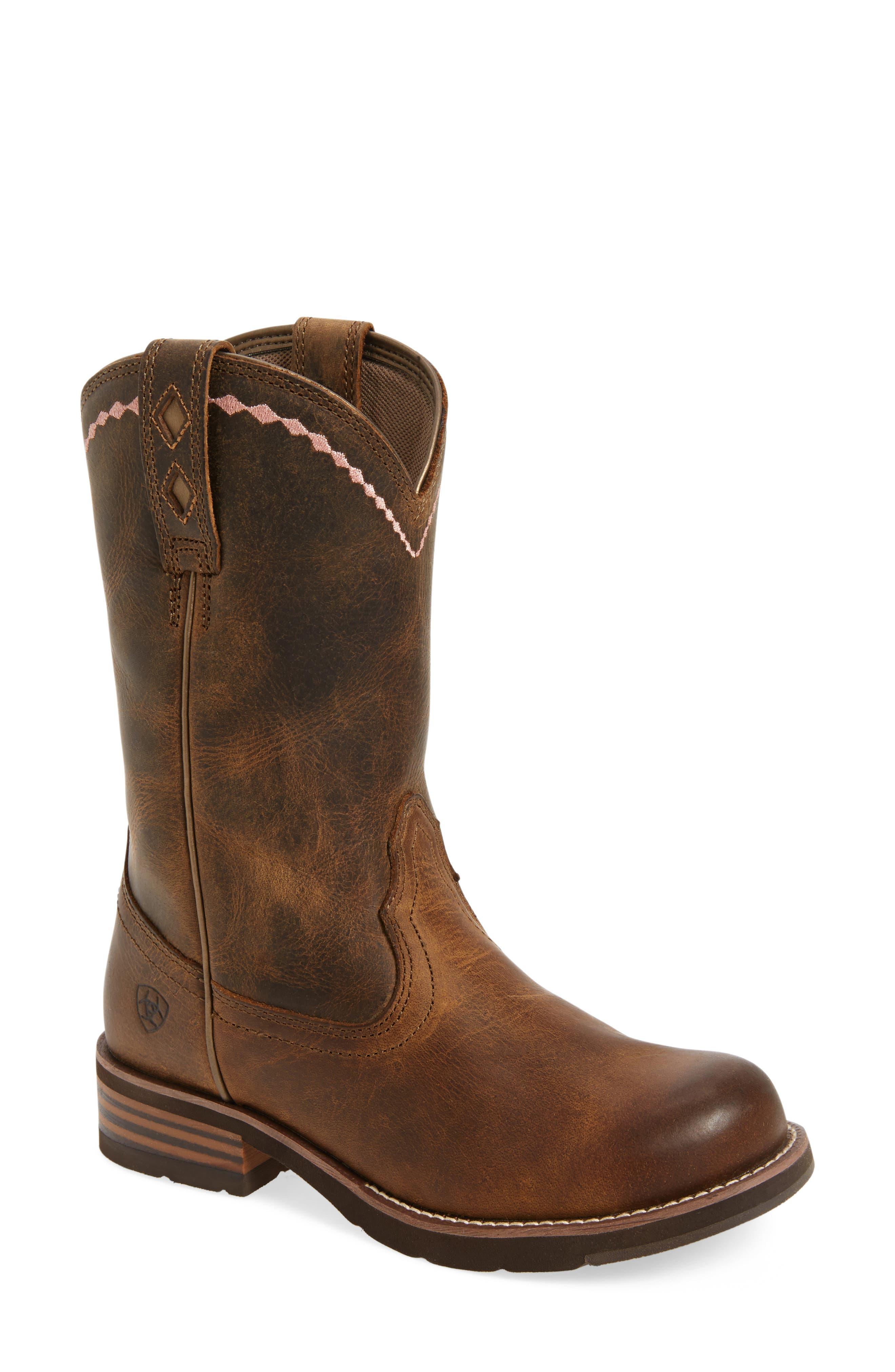 Alternate Image 1 Selected - Ariat Unbridled Roper Western Boot (Women)