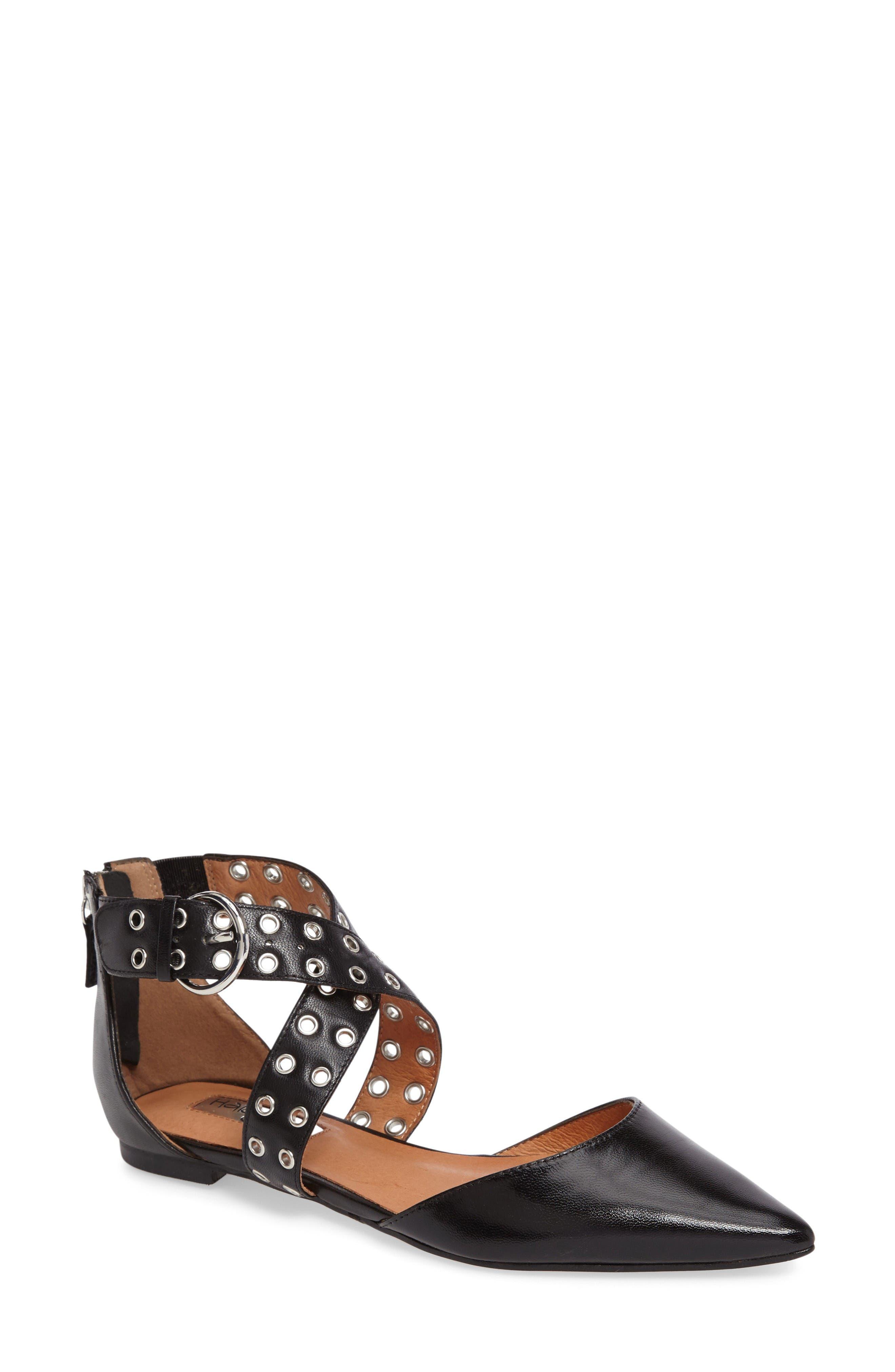 Halogen® Molly Pointy Toe Flat (Women)