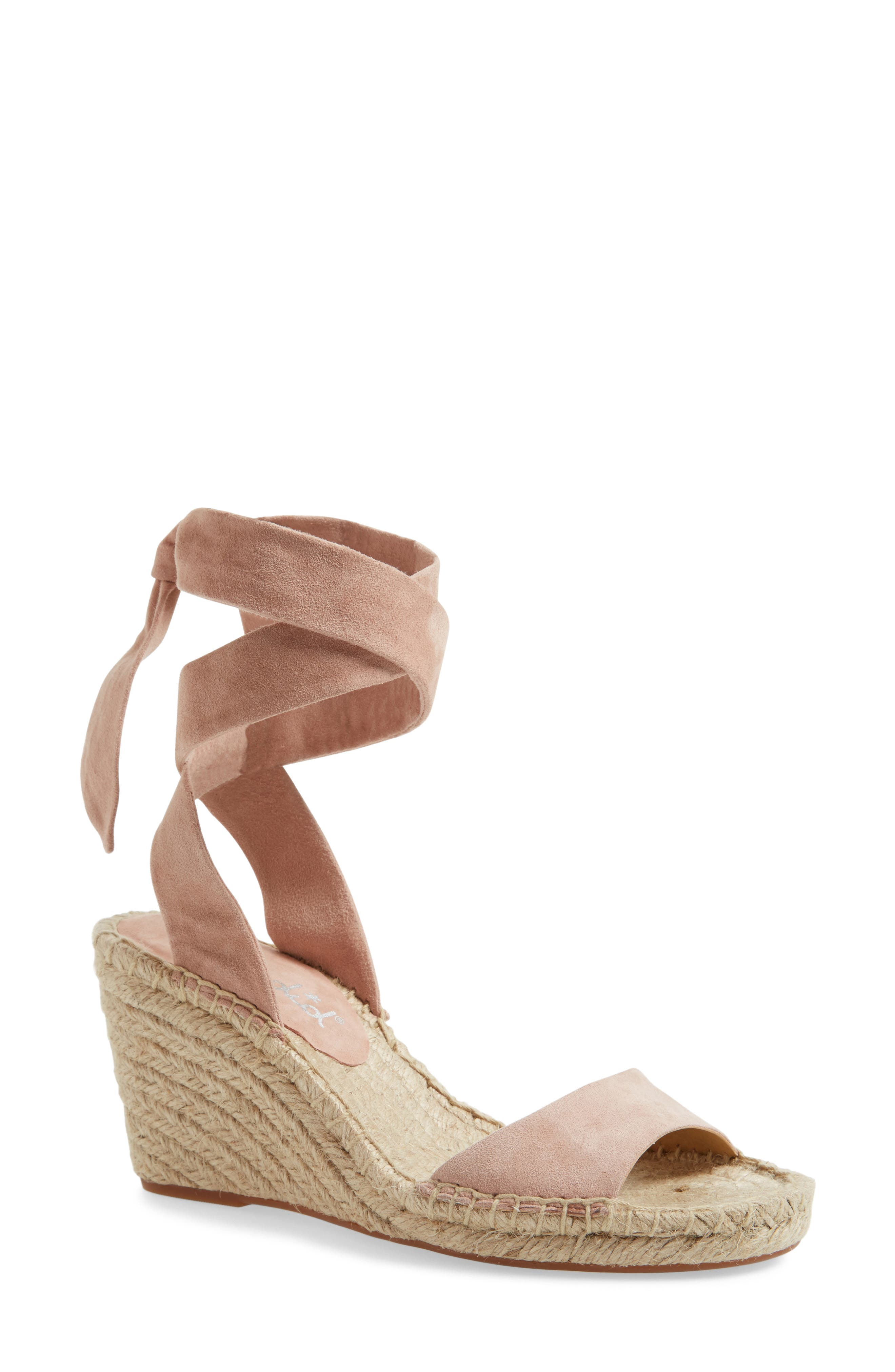 Alternate Image 1 Selected - Splendid Joelle Ankle Tie Espadrille (Women)