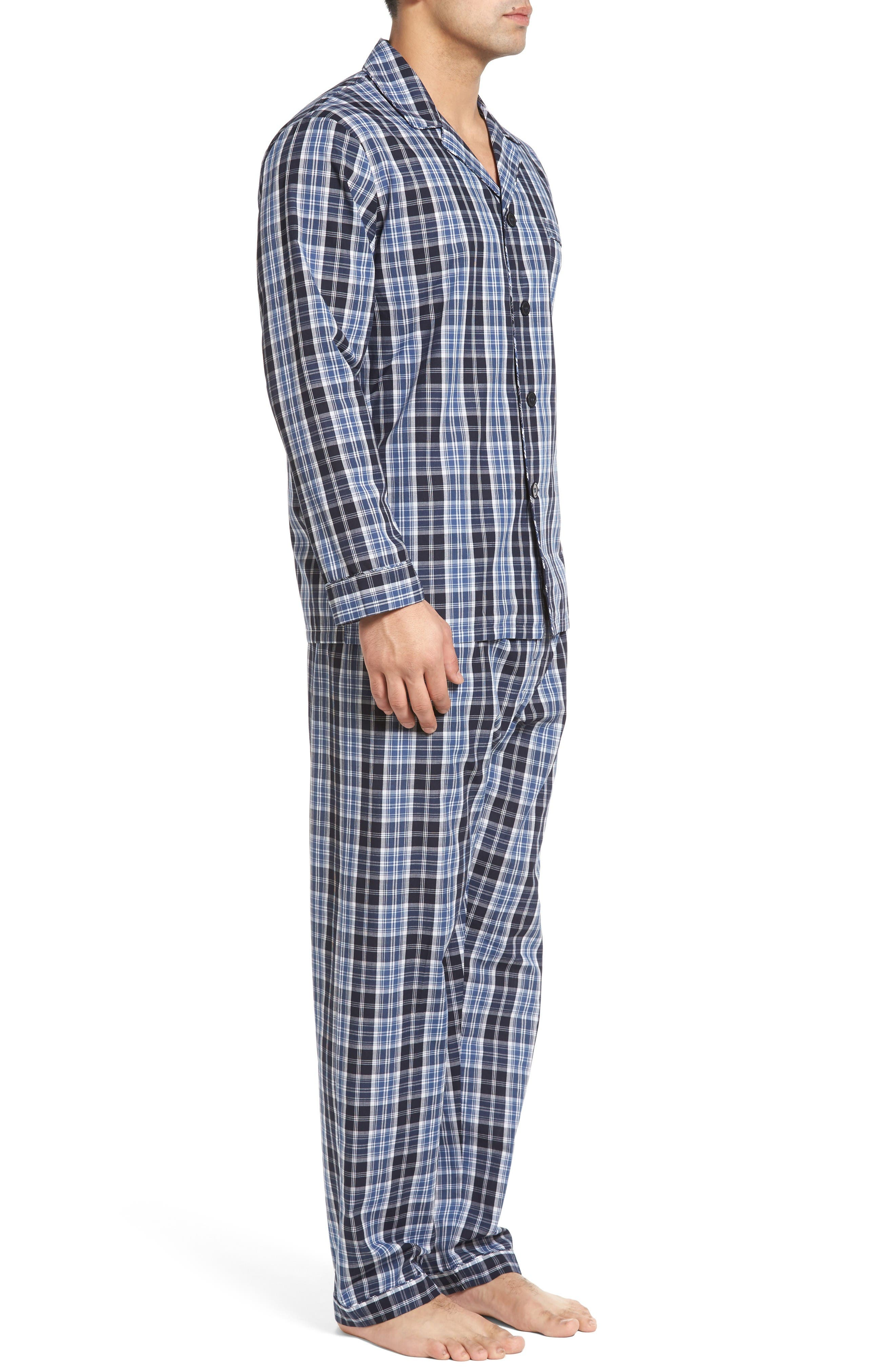 Alternate Image 3  - Majestic International 'Ryden' Cotton Blend Pajamas