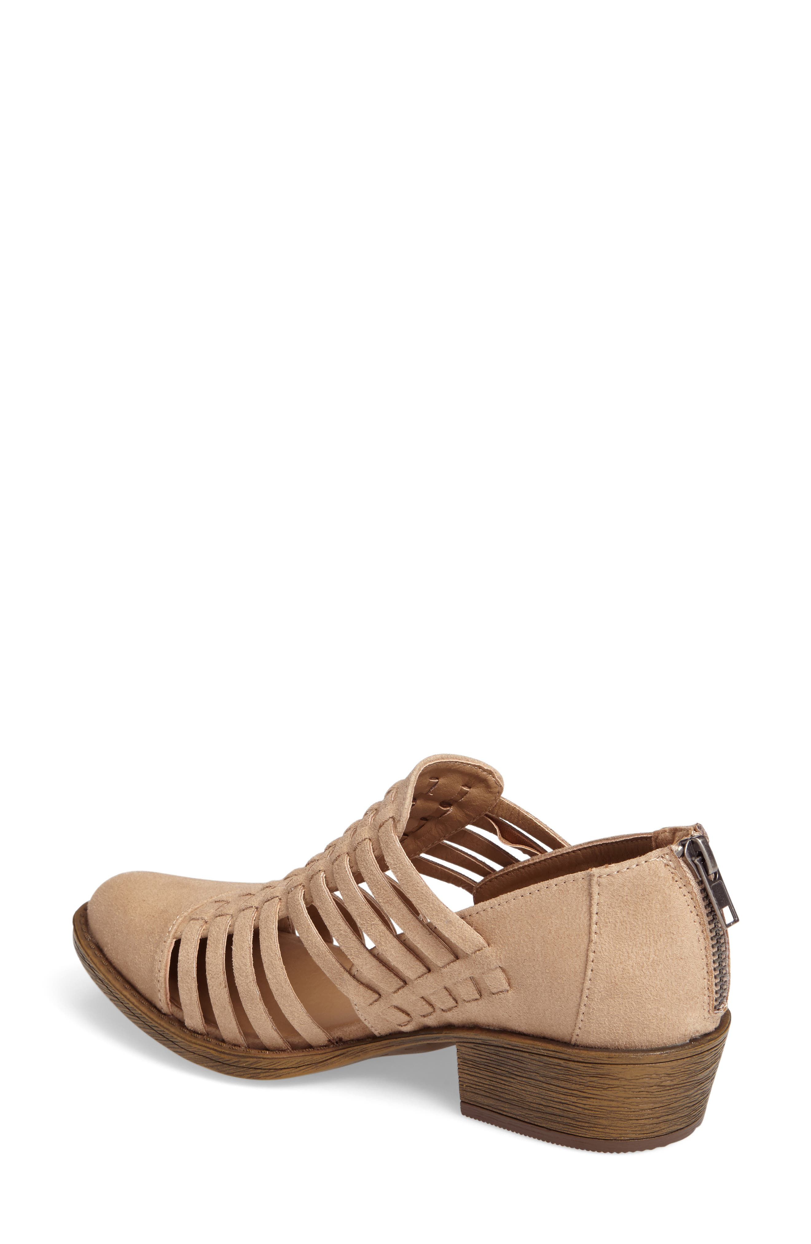 Coconuts by Matisse Woody Bootie,                             Alternate thumbnail 2, color,                             Natural Fabric
