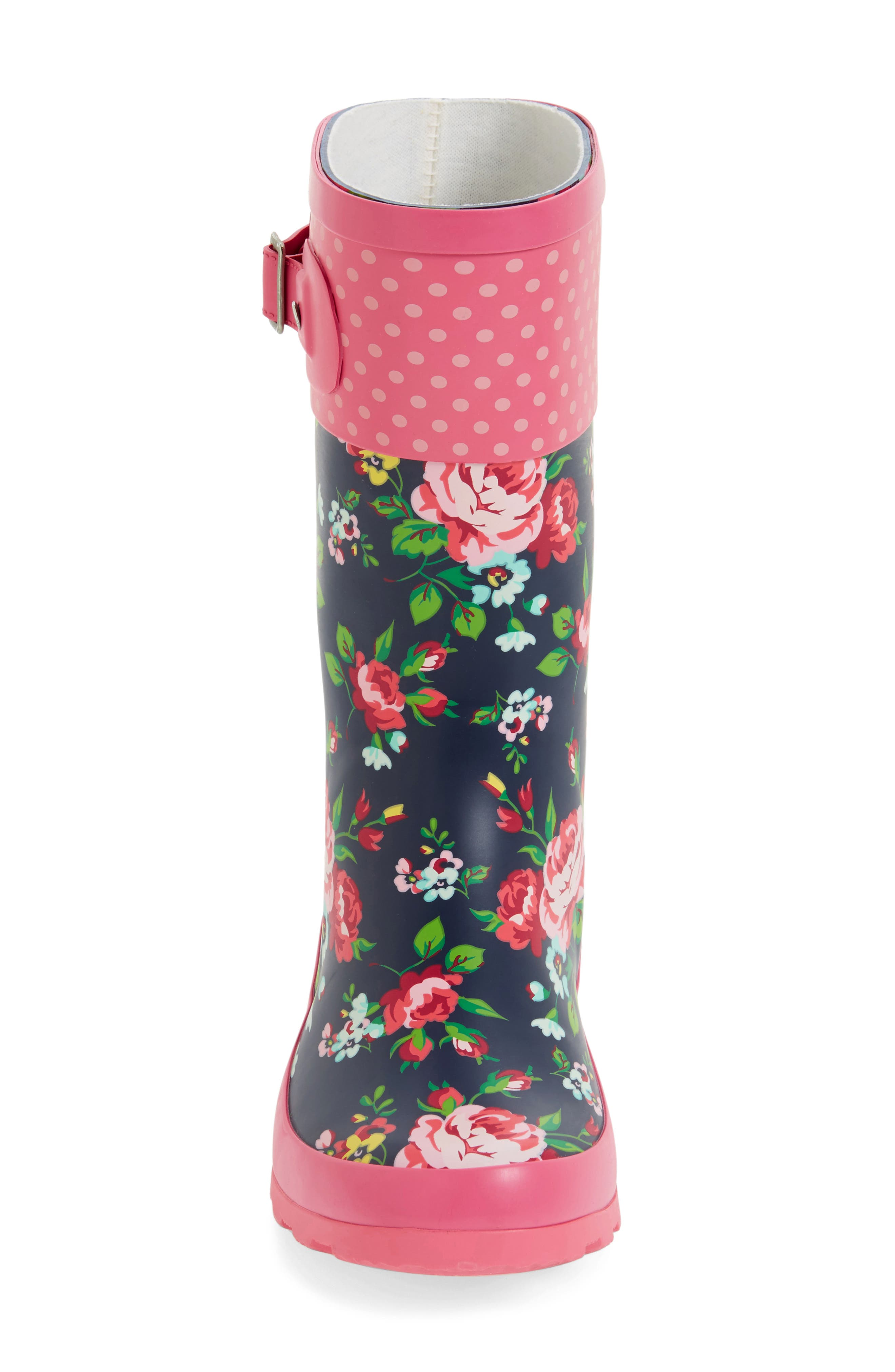 Classic Rosie Rain Boot,                             Alternate thumbnail 3, color,                             Navy