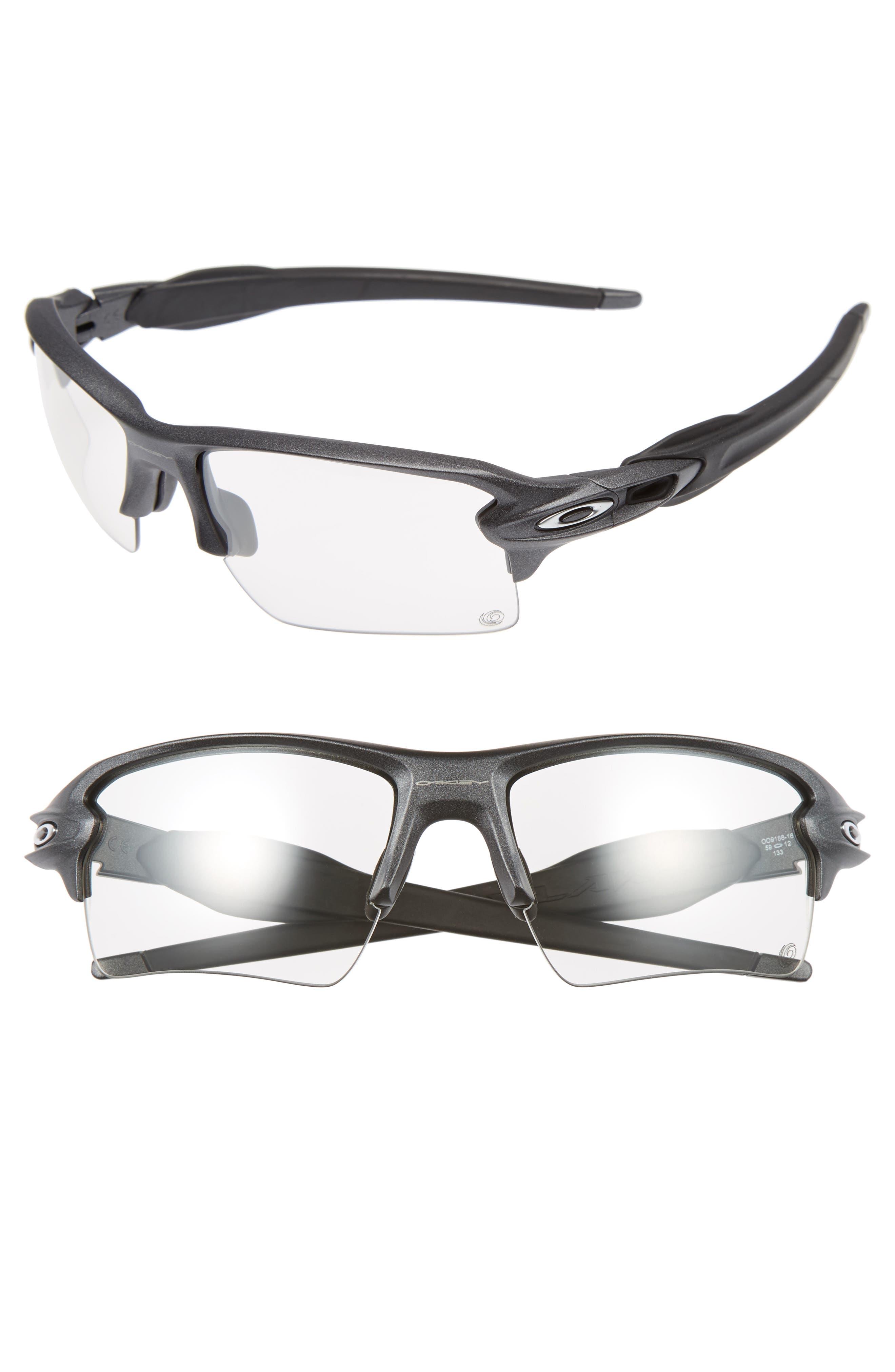 Flak 2.0 59mm Sunglasses,                             Main thumbnail 1, color,                             Grey