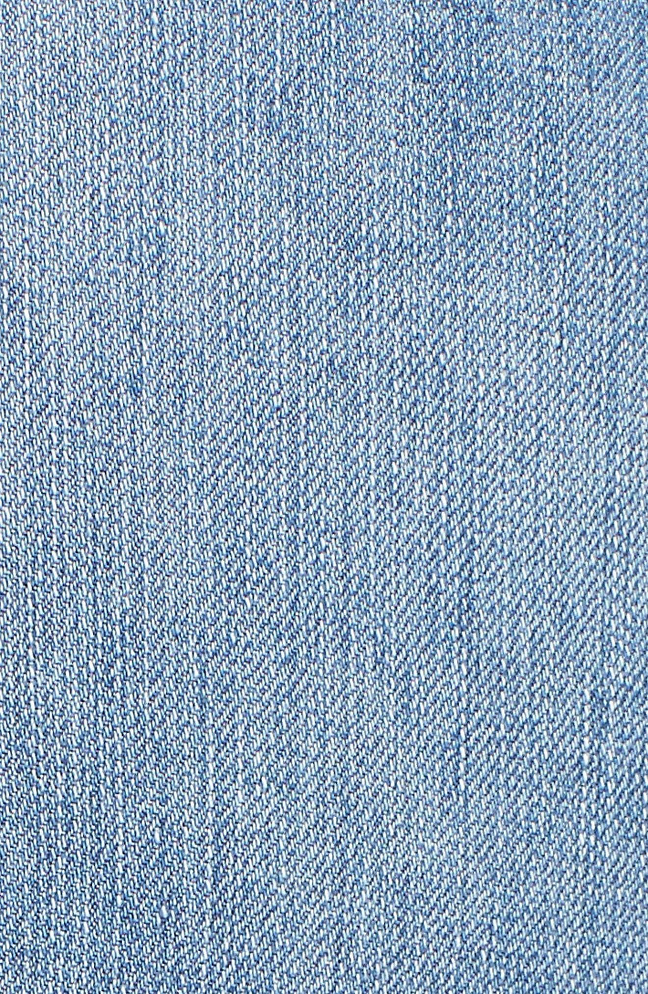 Good Legs Released Hem Skinny Jeans,                             Alternate thumbnail 11, color,                             Blue 023
