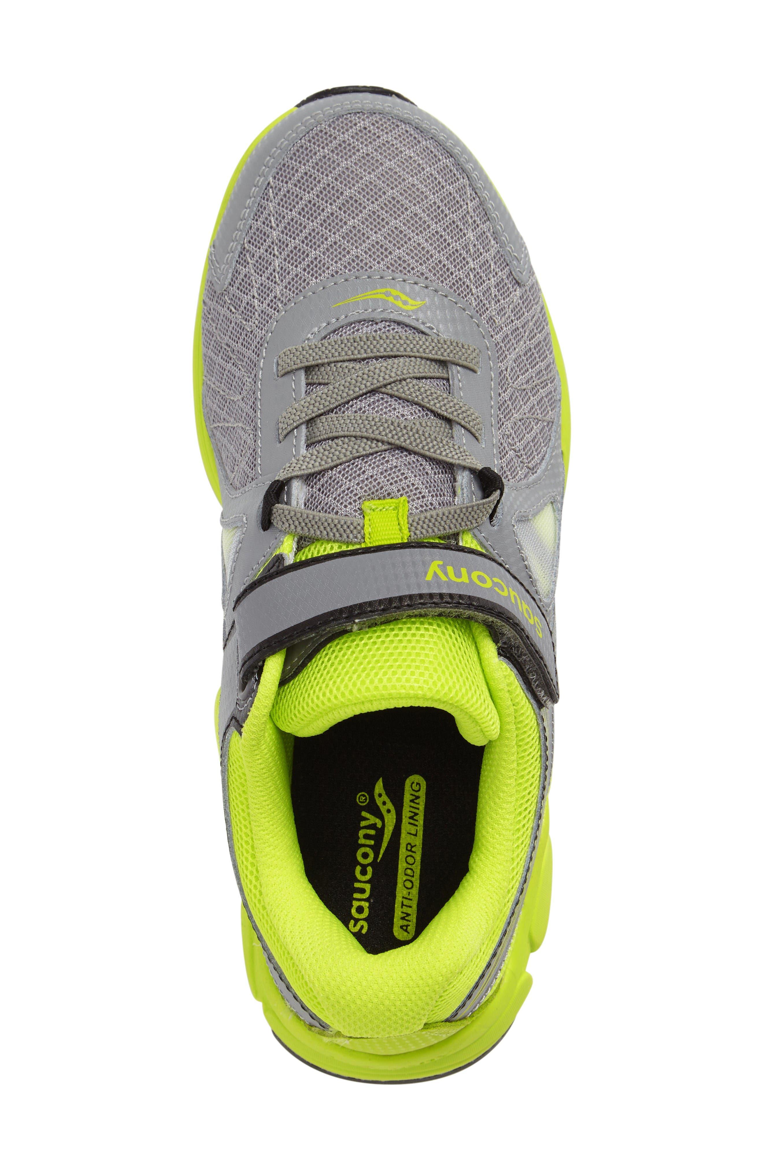 Kotaro 3 A/C Athletic Sneaker,                             Alternate thumbnail 3, color,                             Grey/ Lime