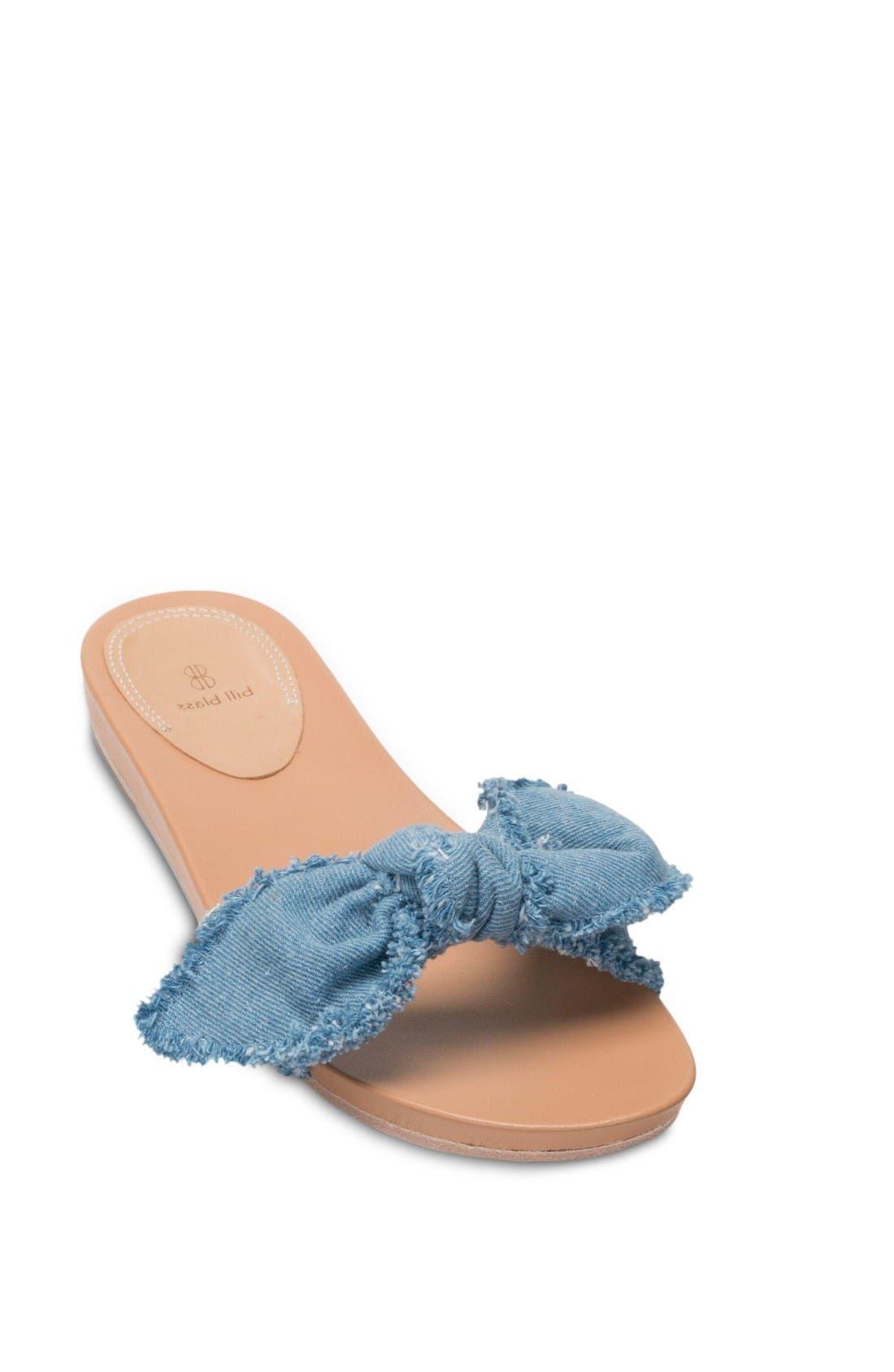 Alternate Image 1 Selected - Bill Blass Carmen Slide Sandal (Women)