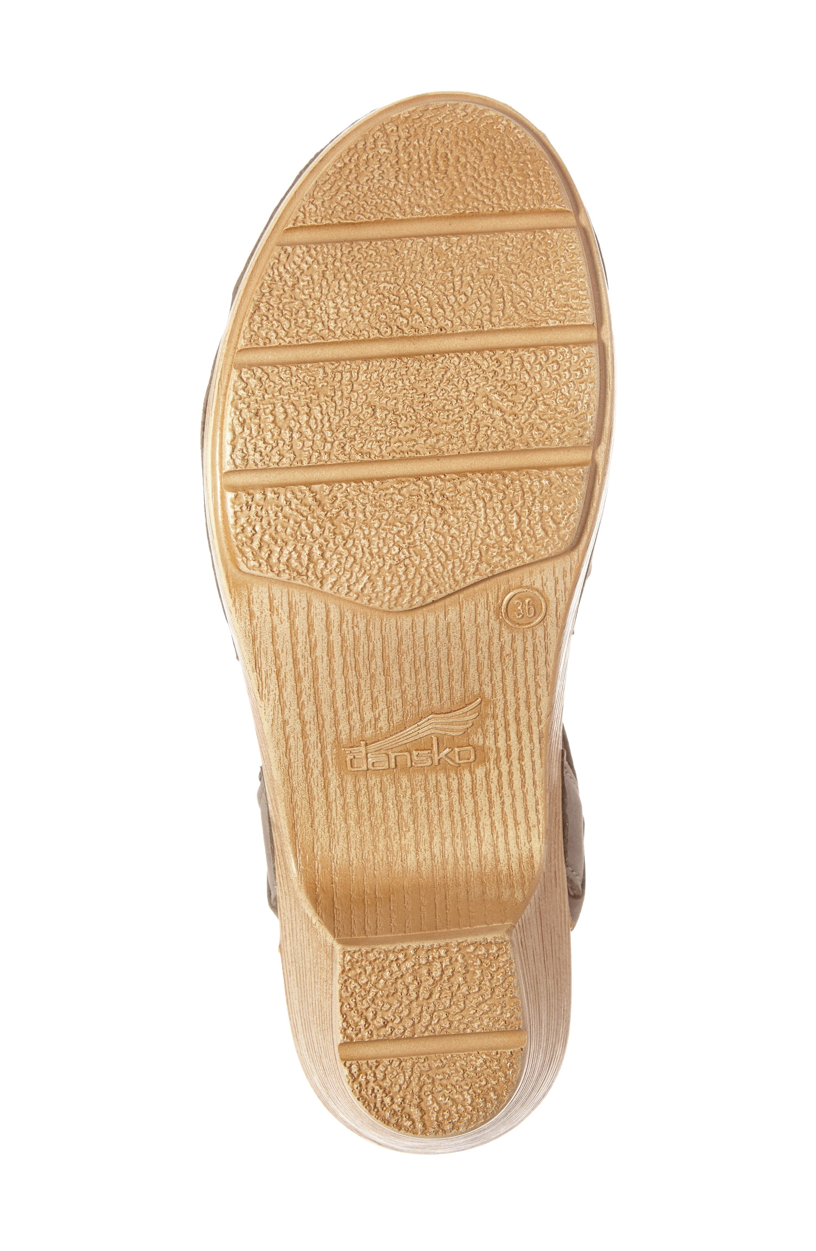 Alternate Image 4  - Dansko 'Marta' Ankle Strap Clog (Women)