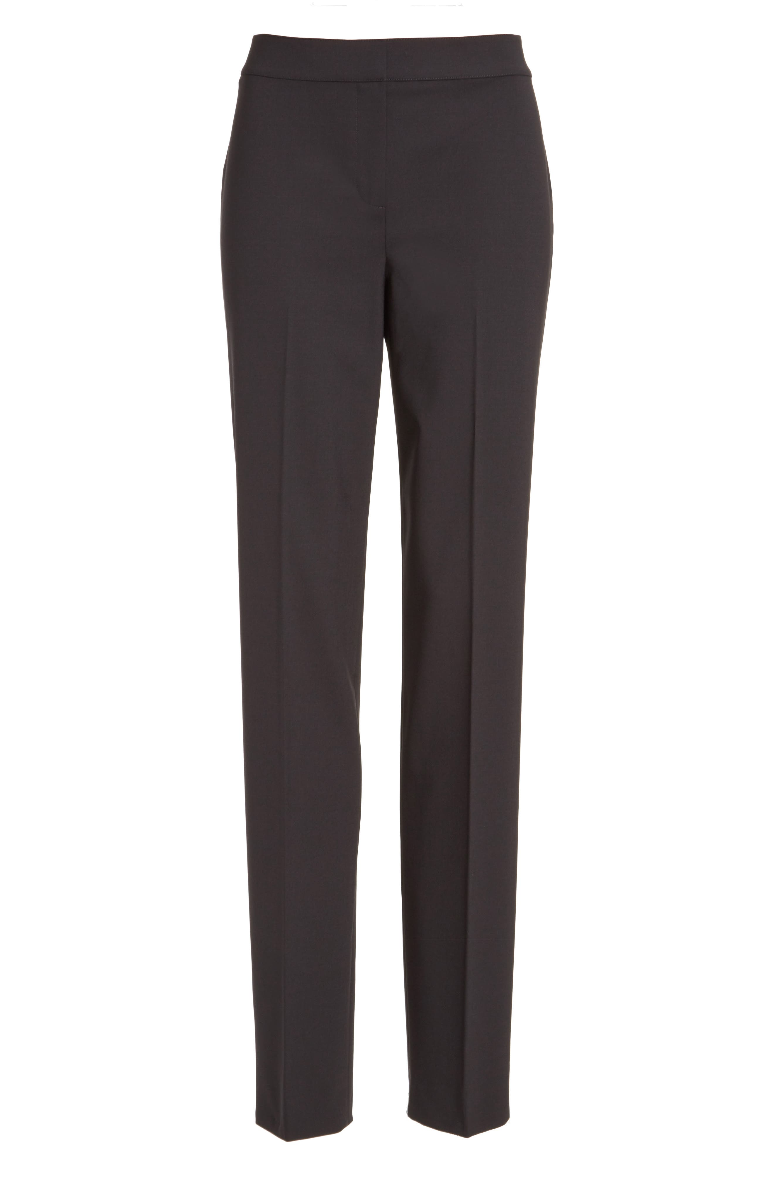 Alternate Image 4  - St. John Collection 'Diana' Tropical Wool Pants