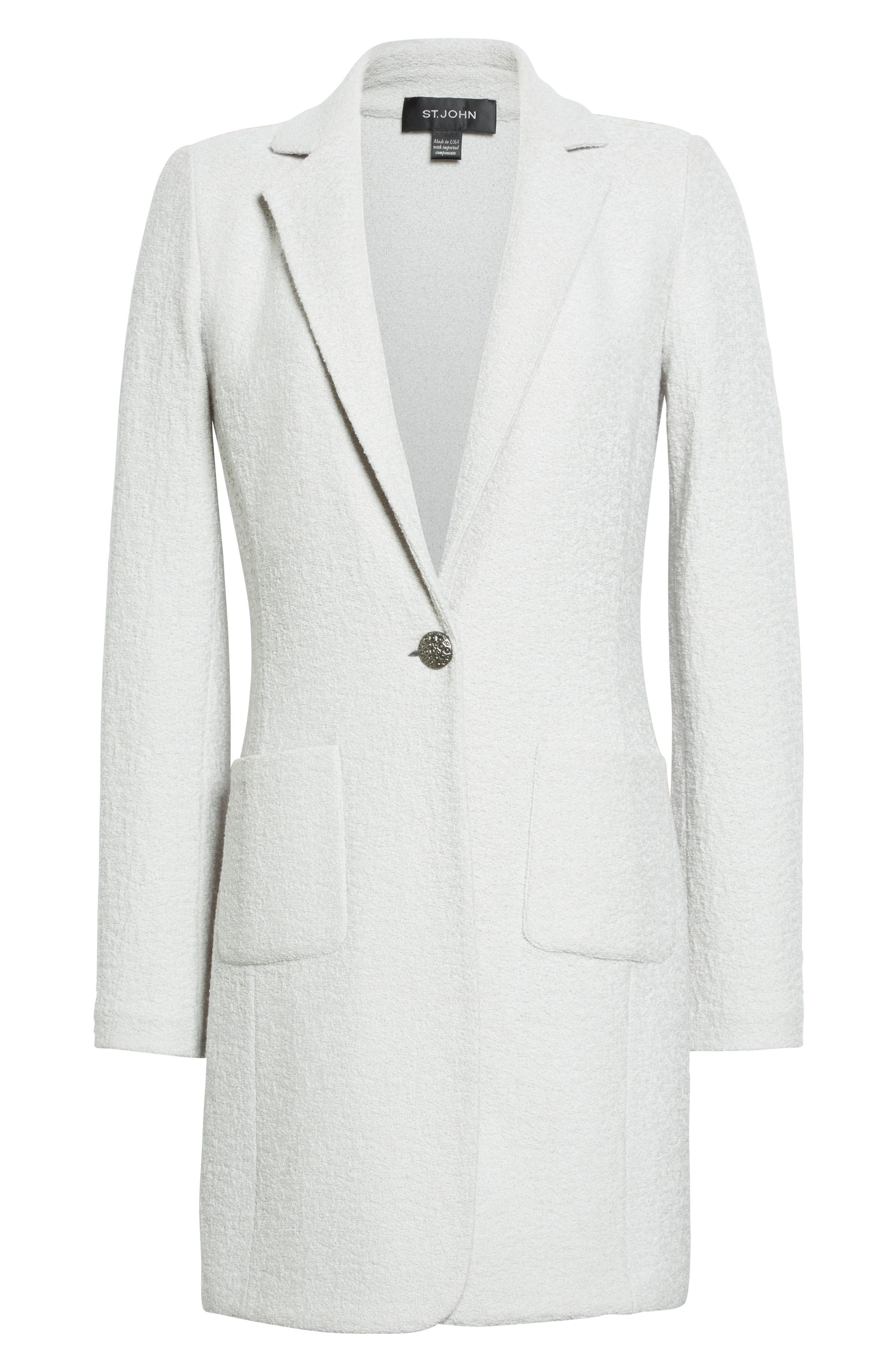 Alternate Image 6  - St. John Collection Clair Knit Jacket