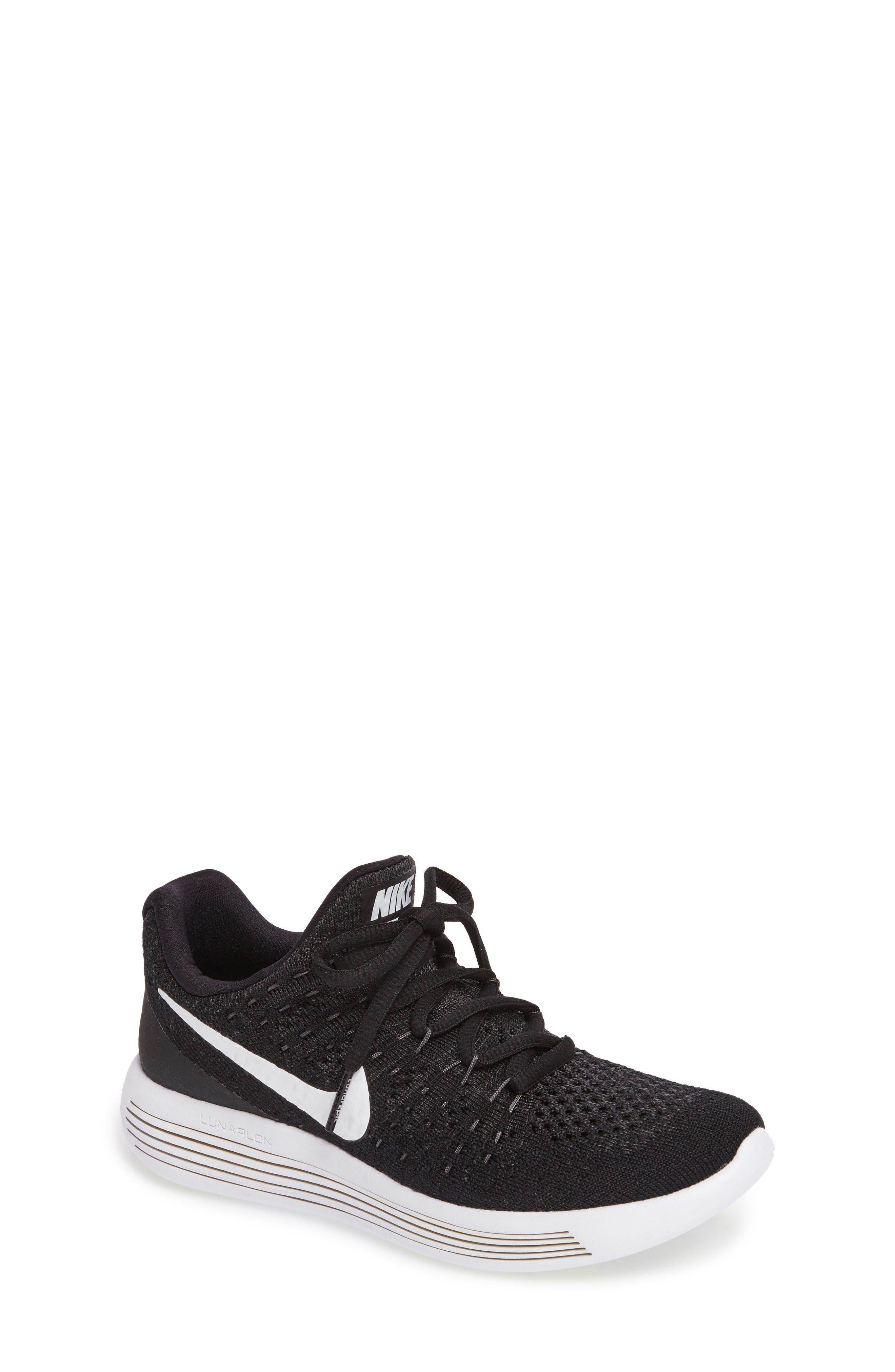 Alternate Image 1 Selected - Nike Flyknit LunarEpic Sneaker (Big Kid) (Regular Retail Price: $115.00)