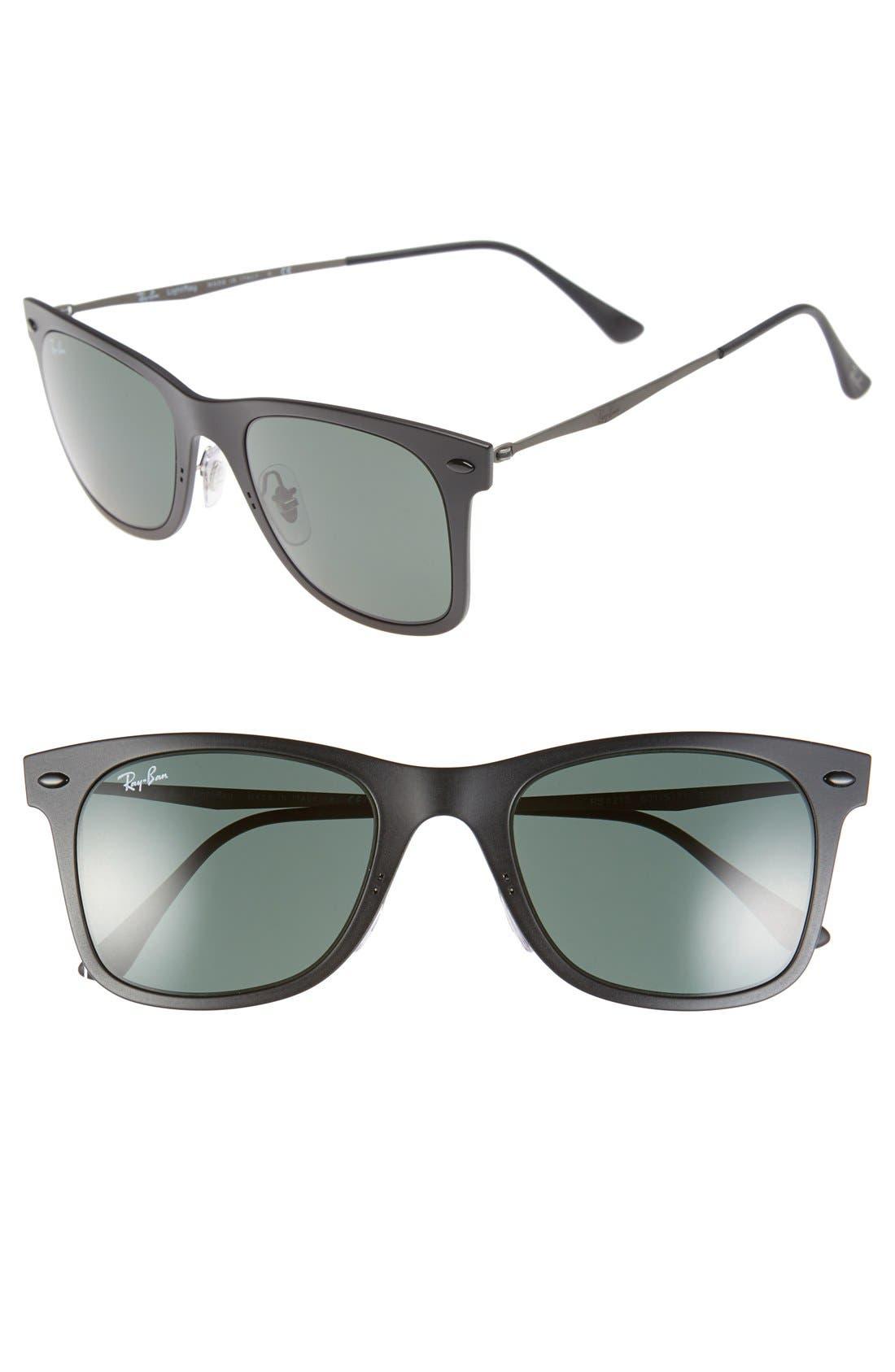 Alternate Image 1 Selected - Ray-Ban 'TECH Light-Ray' 50mm Wayfarer Sunglasses