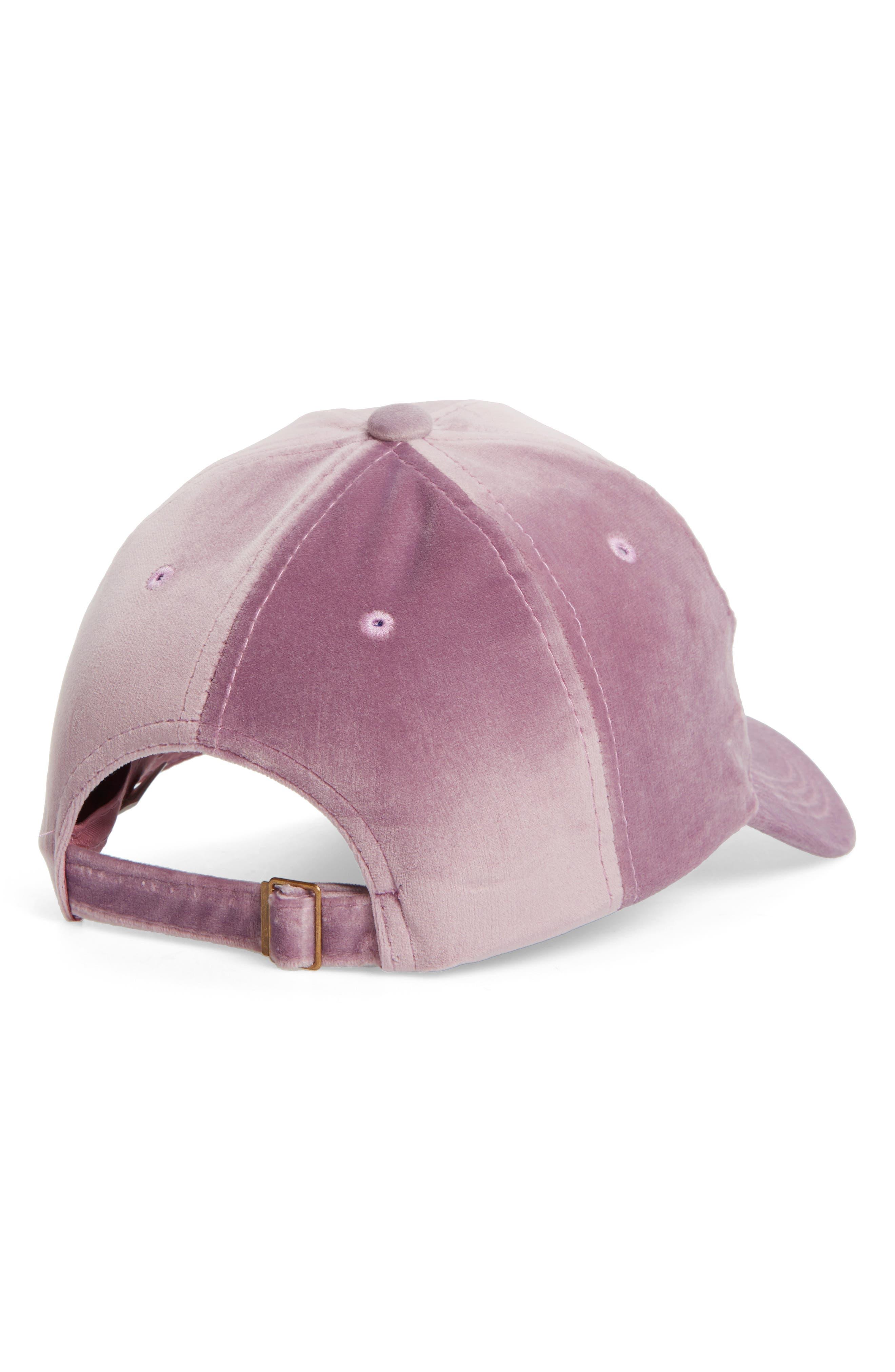 Alternate Image 2  - Fantasia Velvet Ball Cap