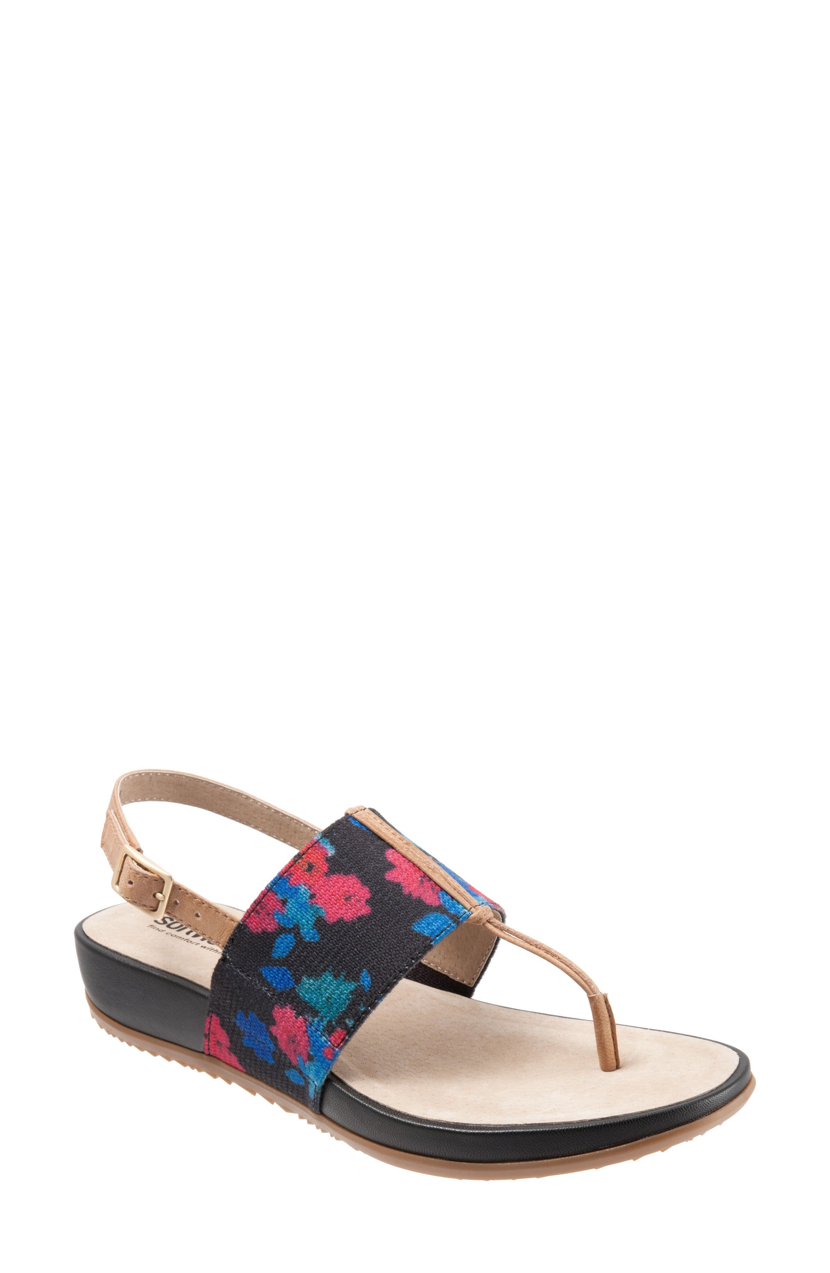 Alternate Image 1 Selected - SoftWalk® Daytona Sandal (Women)