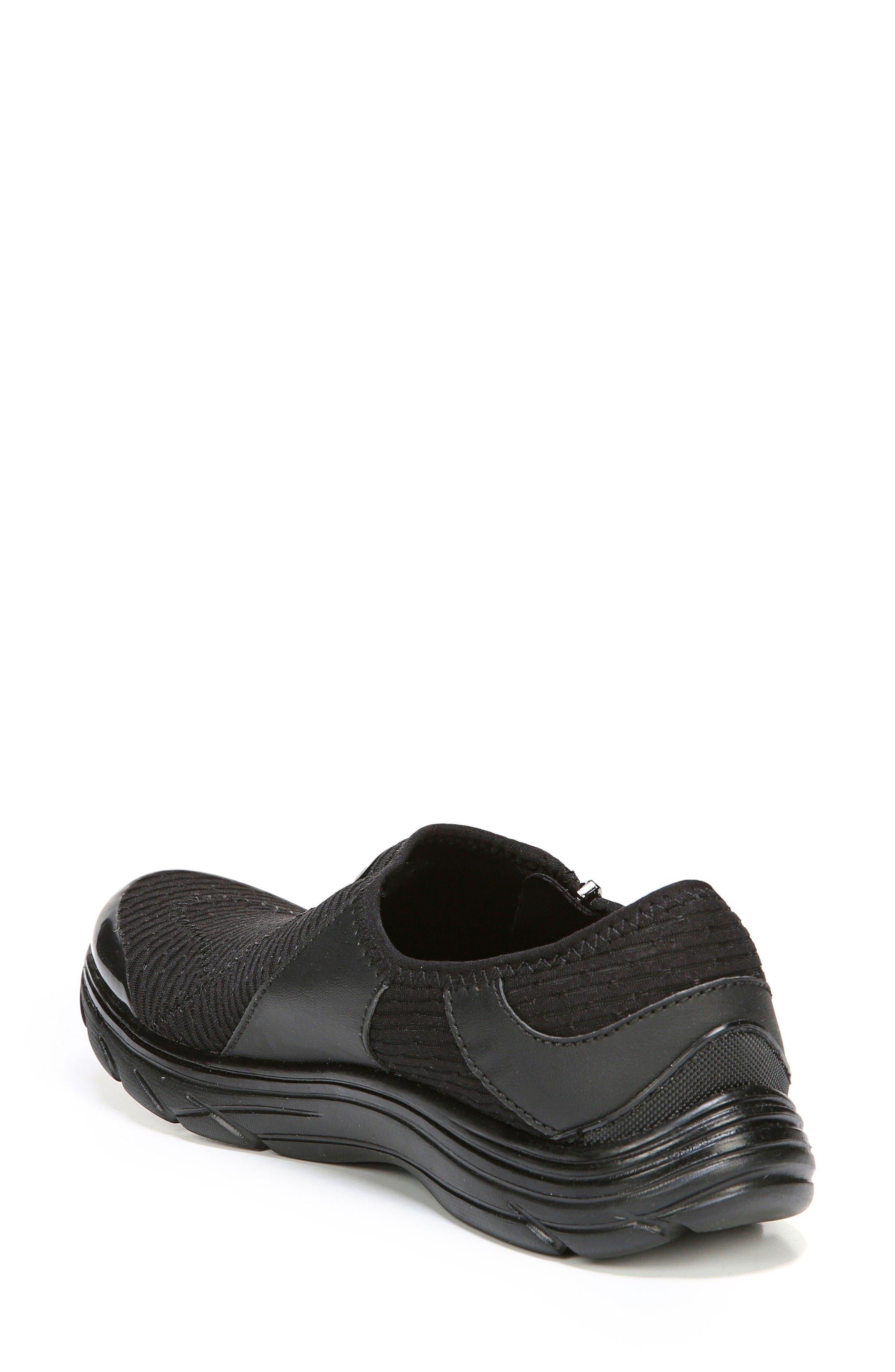 Balance Sneaker,                             Alternate thumbnail 2, color,                             Black Oval Fabric