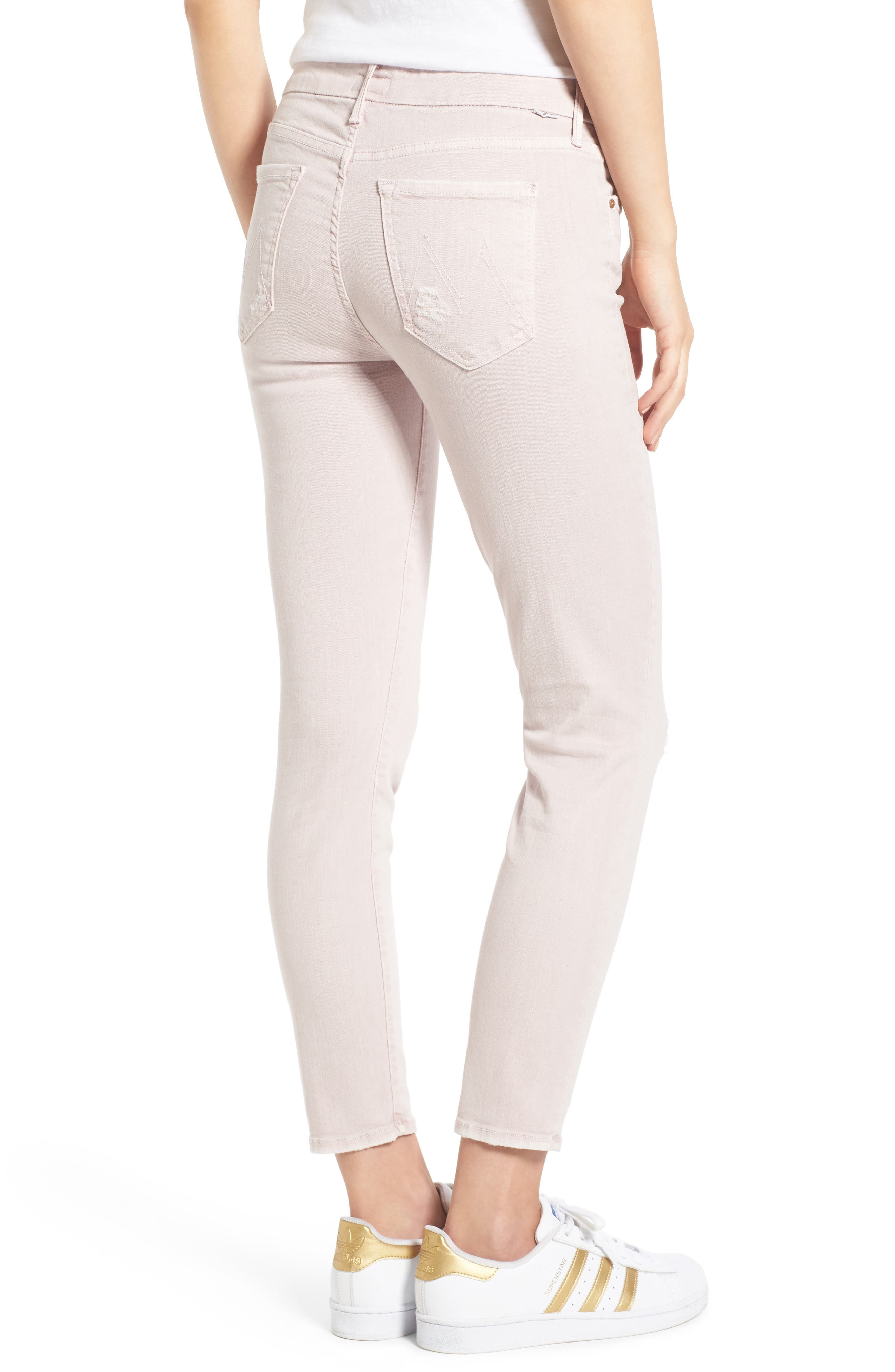 Alternate Image 2  - MOTHER The Looker Crop Skinny Jeans