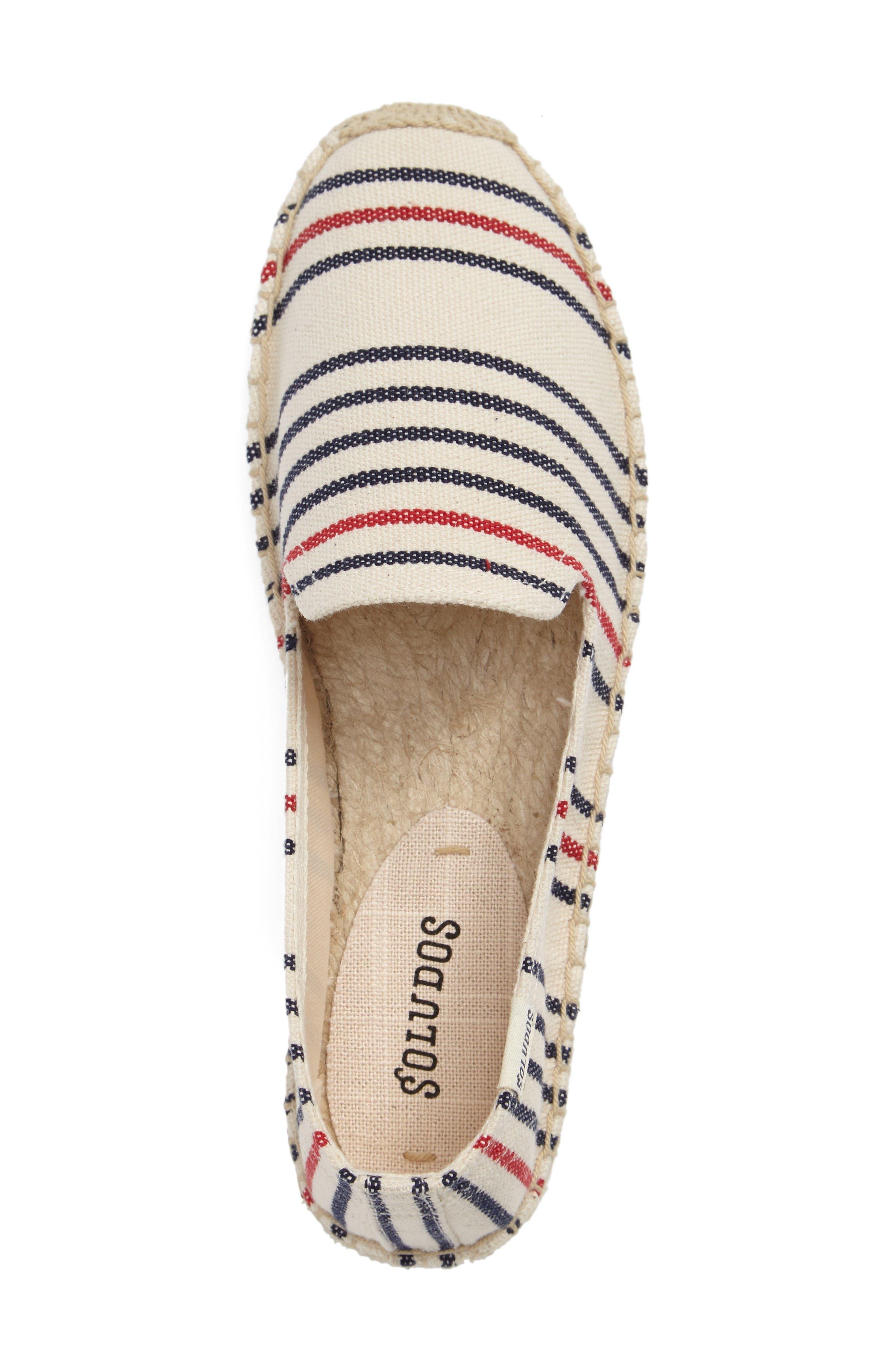 Alternate Image 3  - Soludos Stripe Espadrille Loafer (Women)