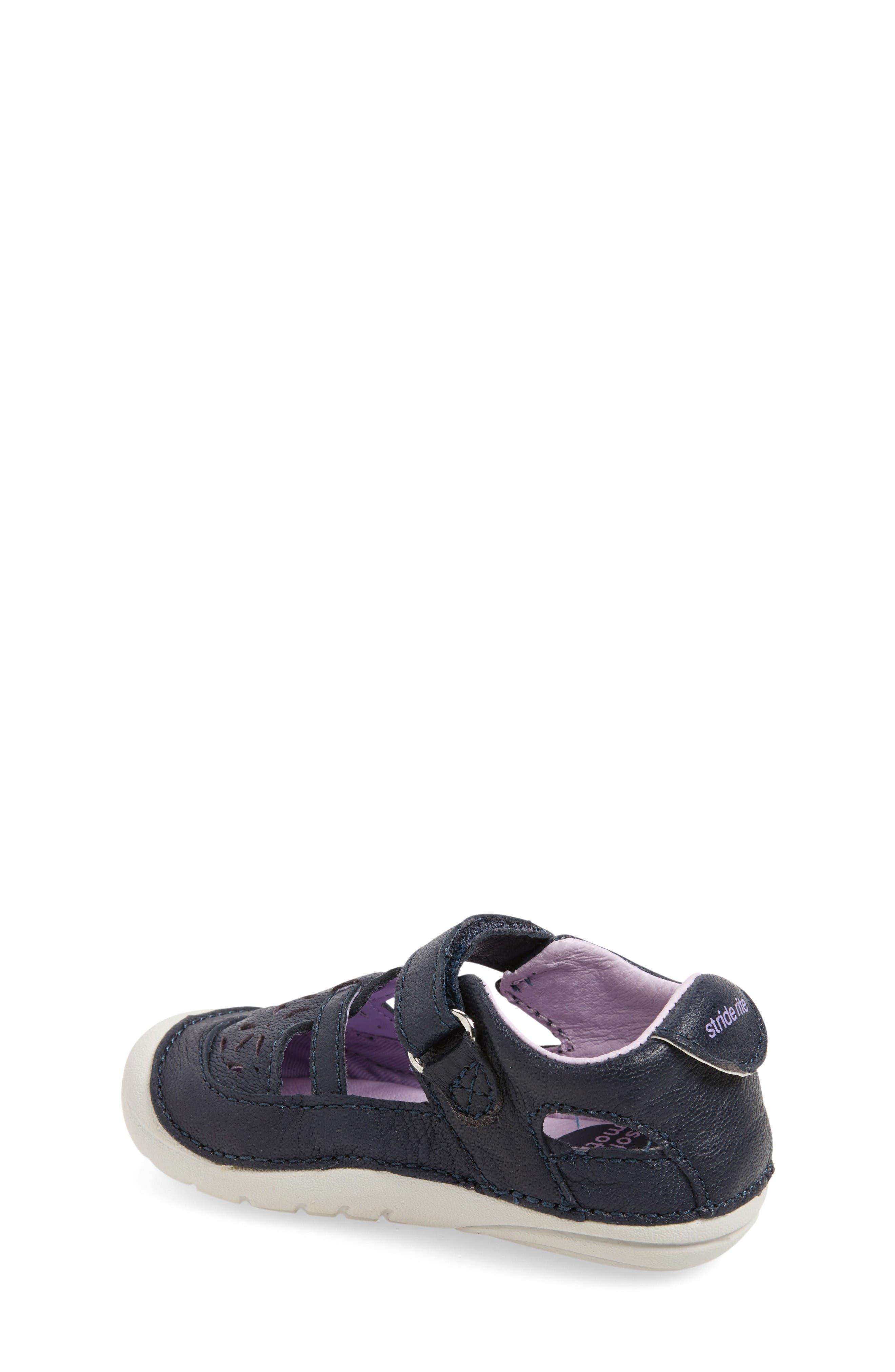 Alternate Image 2  - Stride Rite Viviana Soft Motion Sandal (Baby & Walker)