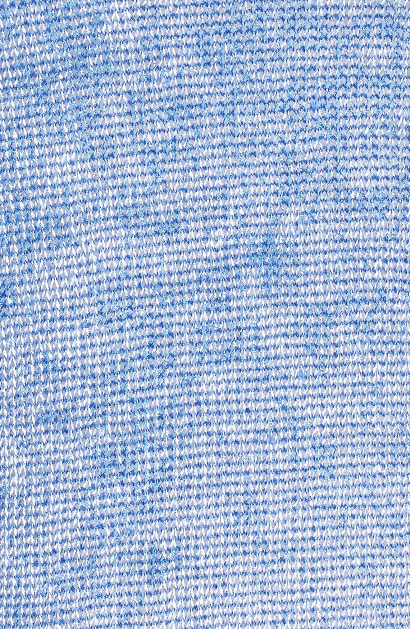 Poolside Linen Blend Pullover,                             Alternate thumbnail 5, color,                             Poolside