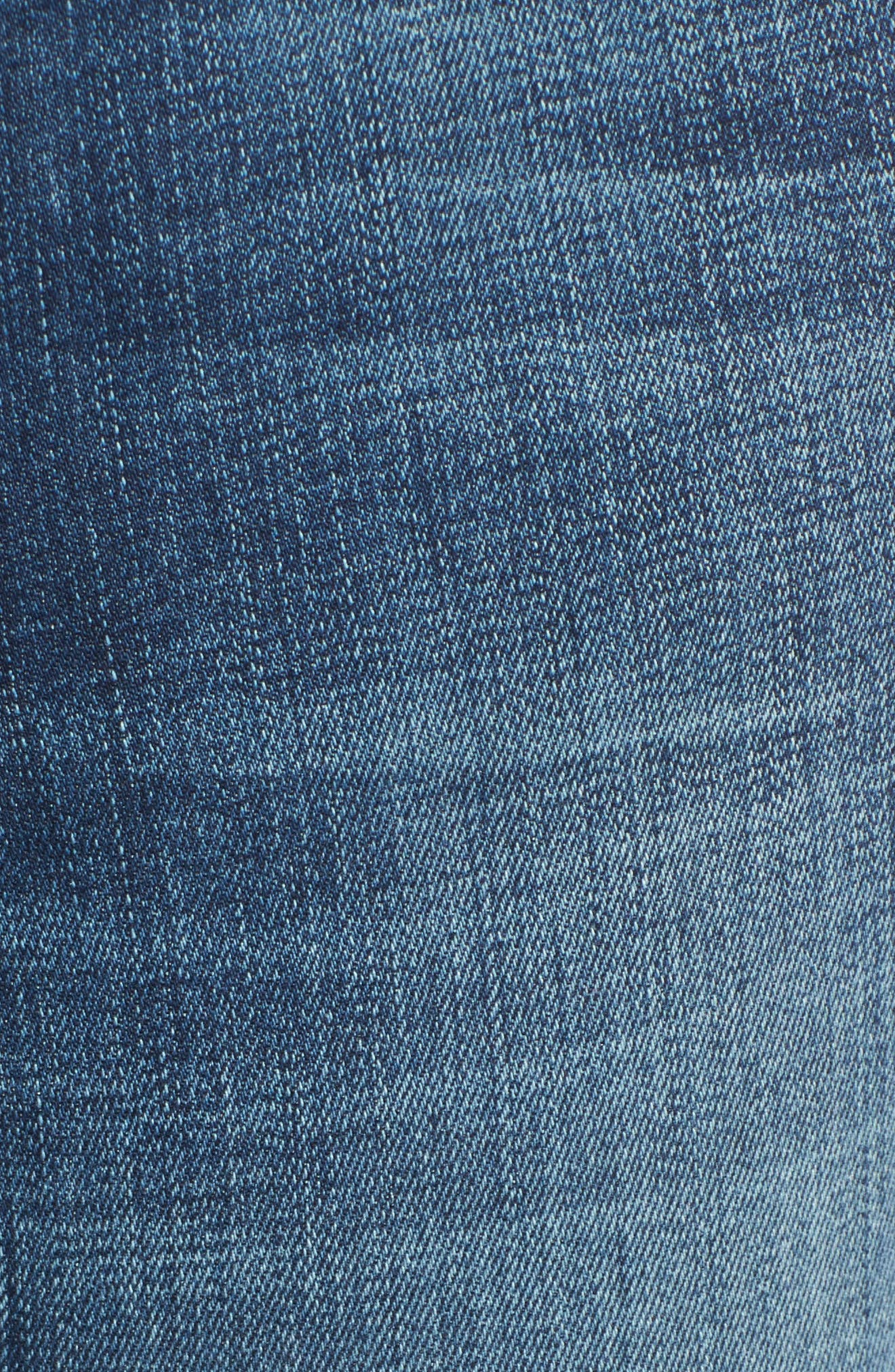 Andie Skinny Crop Jeans,                             Alternate thumbnail 4, color,                             Giada