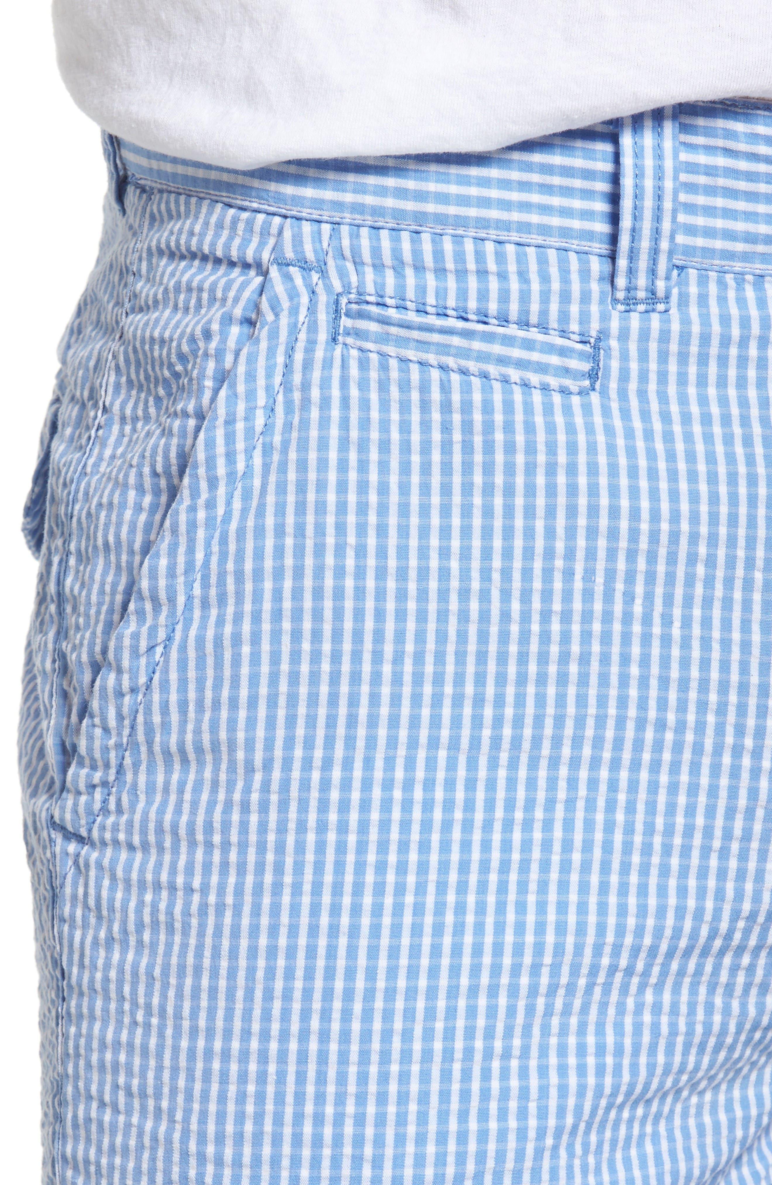 Alternate Image 4  - Vintage 1946 Stripe Seersucker Shorts