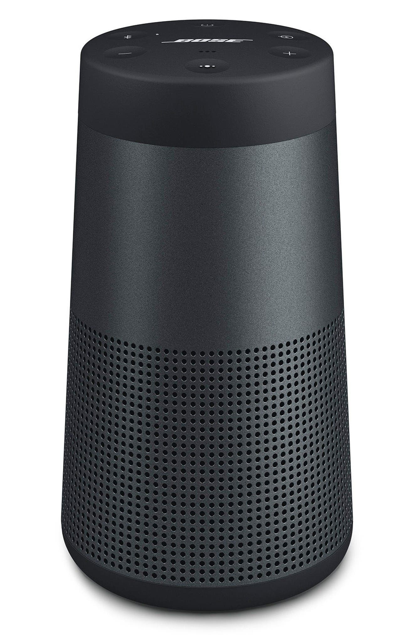 SoundLink<sup>®</sup> Revolve Bluetooth<sup>®</sup> Speaker,                         Main,                         color, Black