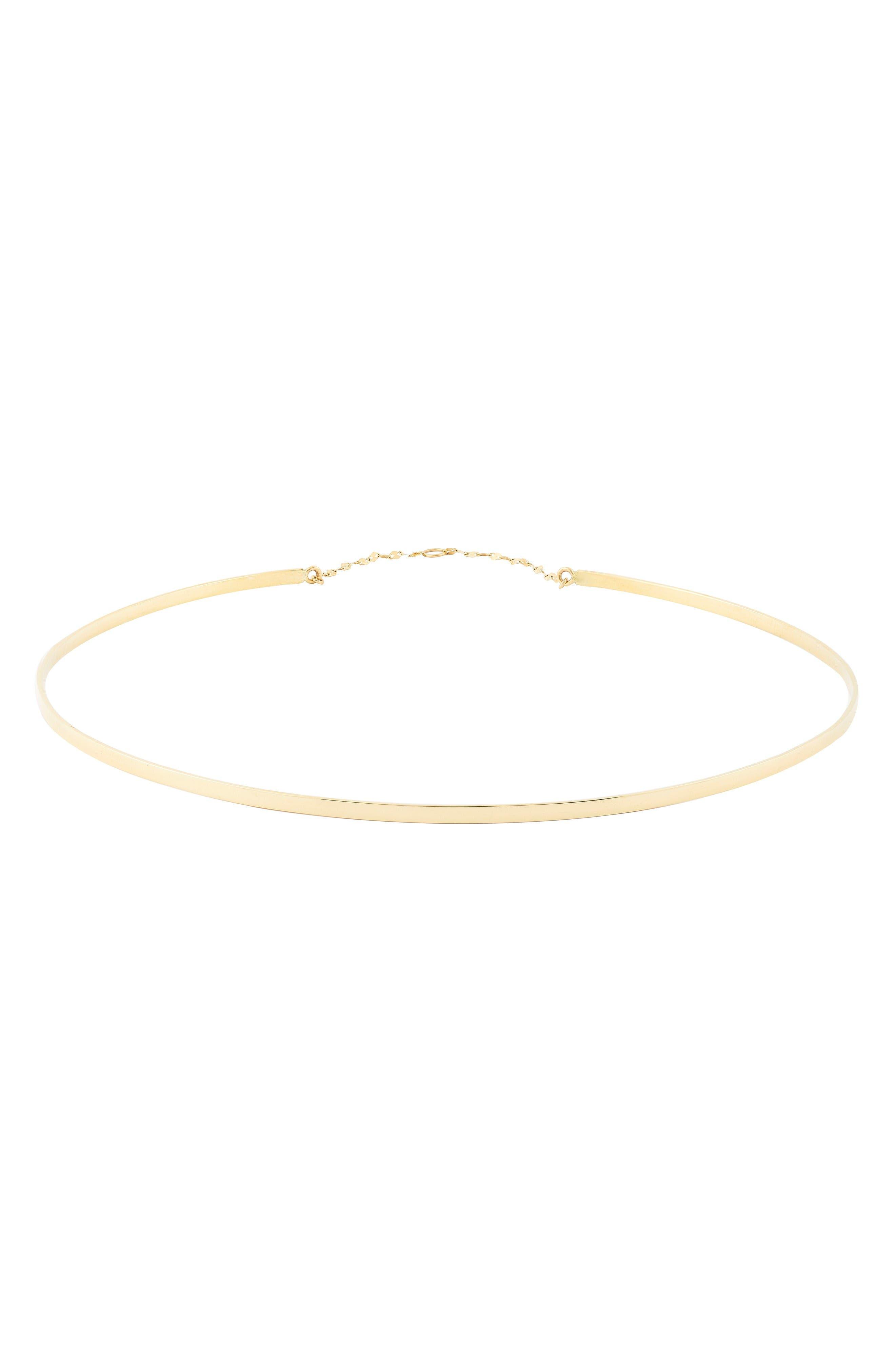 Lana Jewelry Bond Thin Gloss Choker