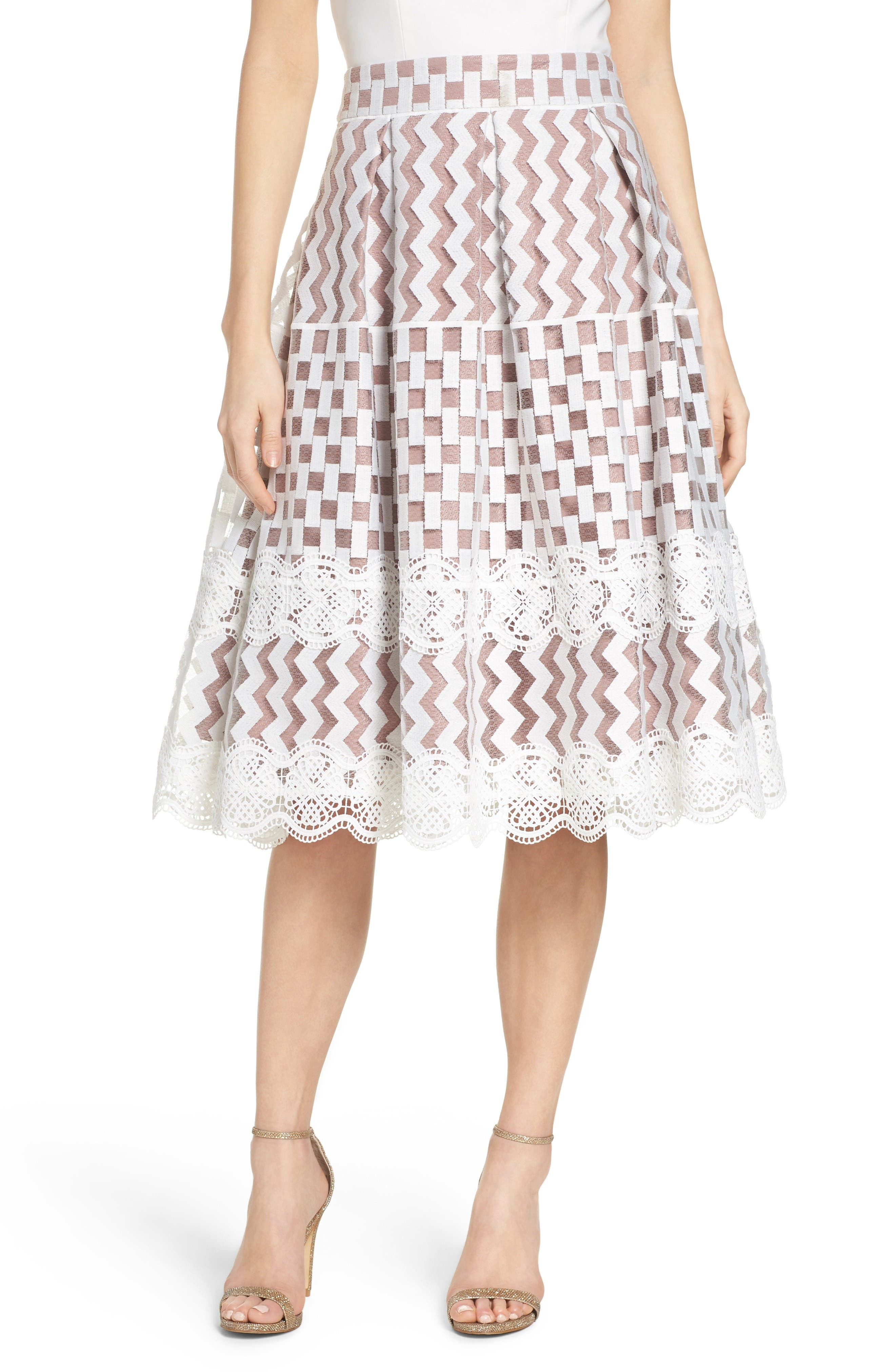 Midi Skirts: Lace, Print, Pencil, Tiered, Tube & More | Nordstrom ...