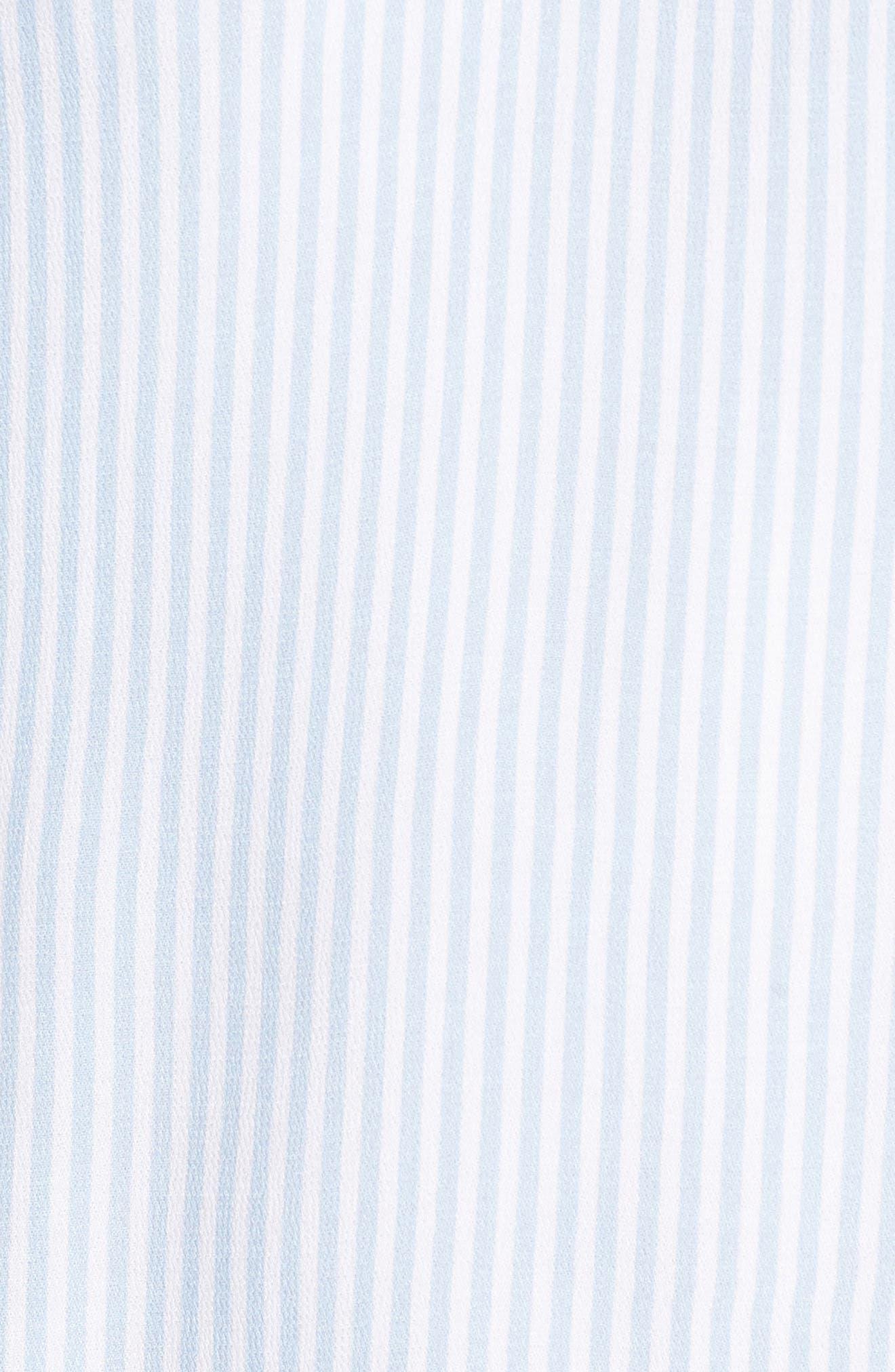 Alternate Image 5  - BP. Stripe Bell Sleeve Blouse