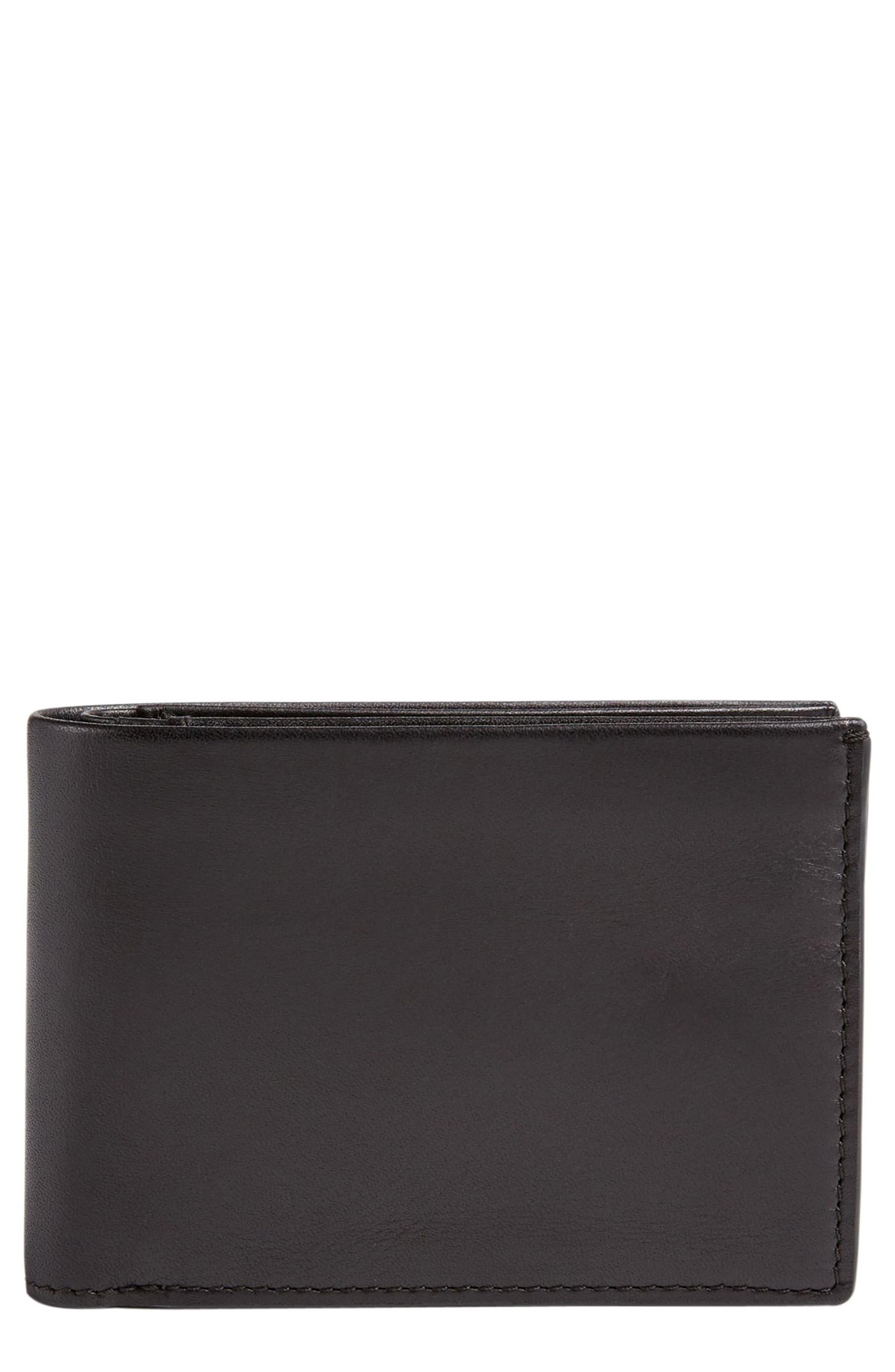 Skagen International Leather Bifold Wallet