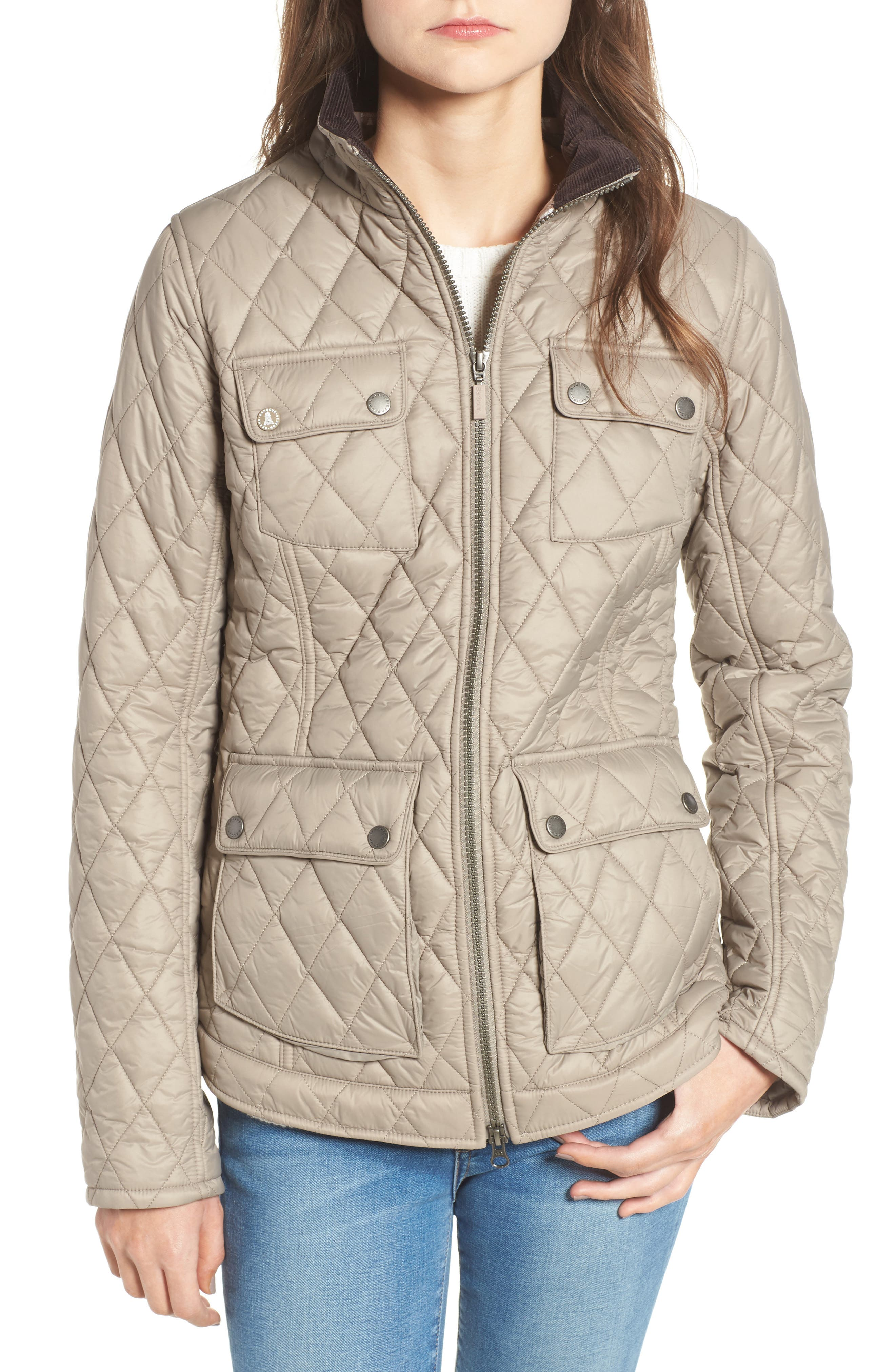 Alternate Image 1 Selected - Barbour Dolostone Quilted Jacket