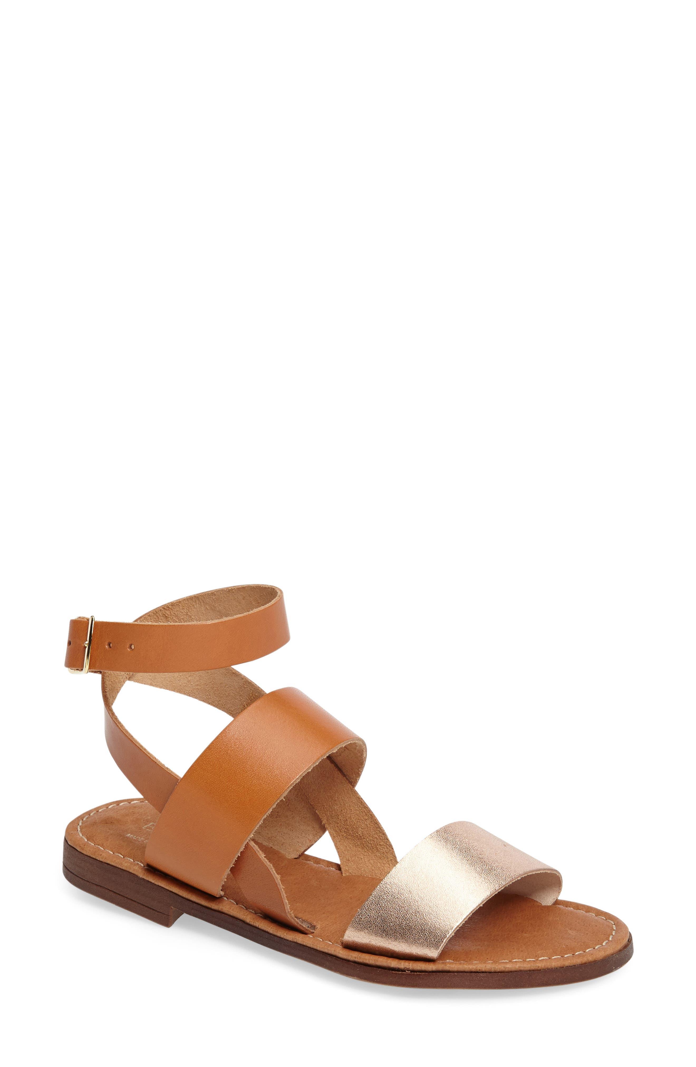 BOS. & CO. Ivory Sandal