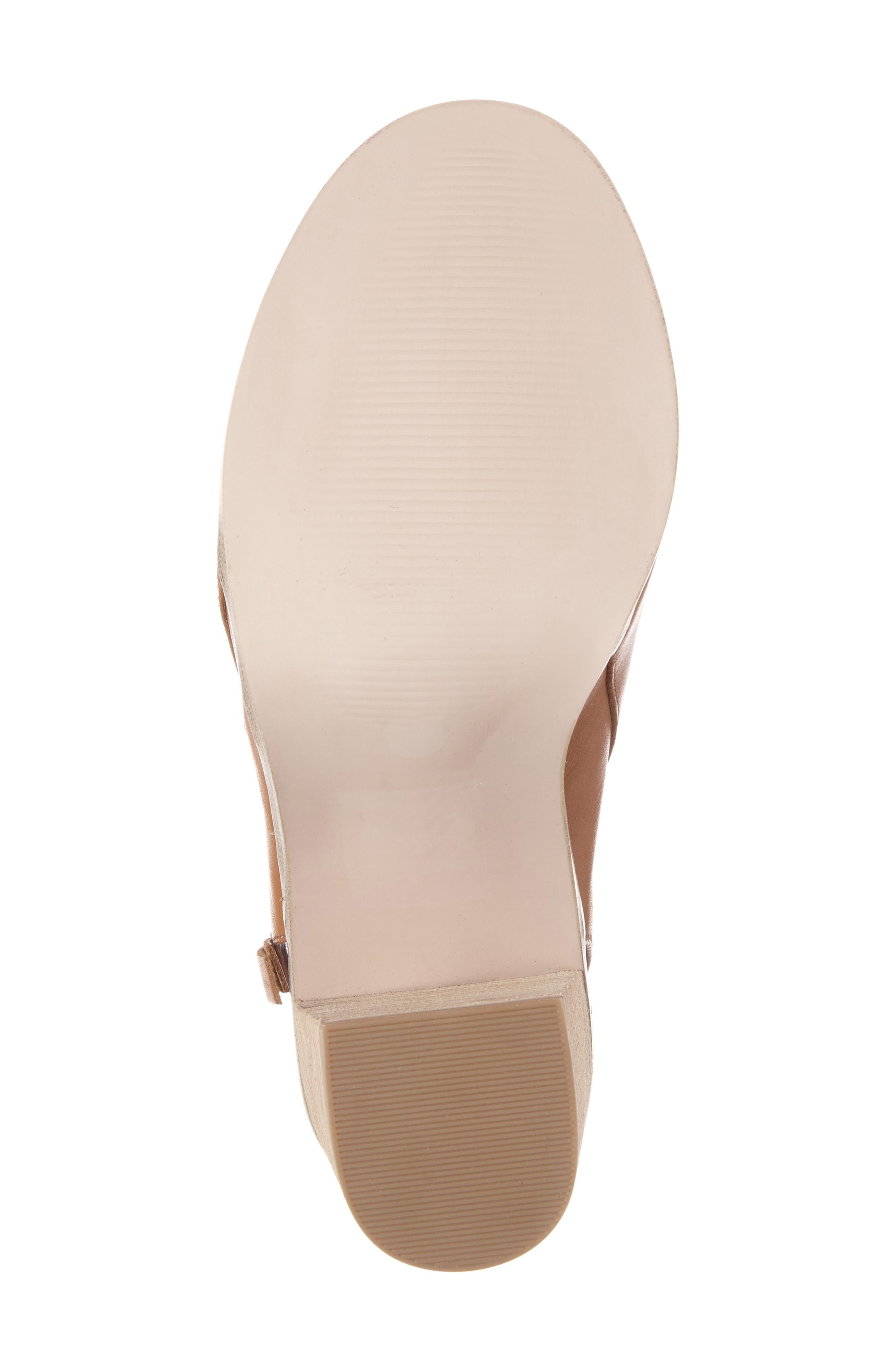 Alternate Image 4  - Sole Society Arizona Block Heel Peep-Toe Bootie (Women)