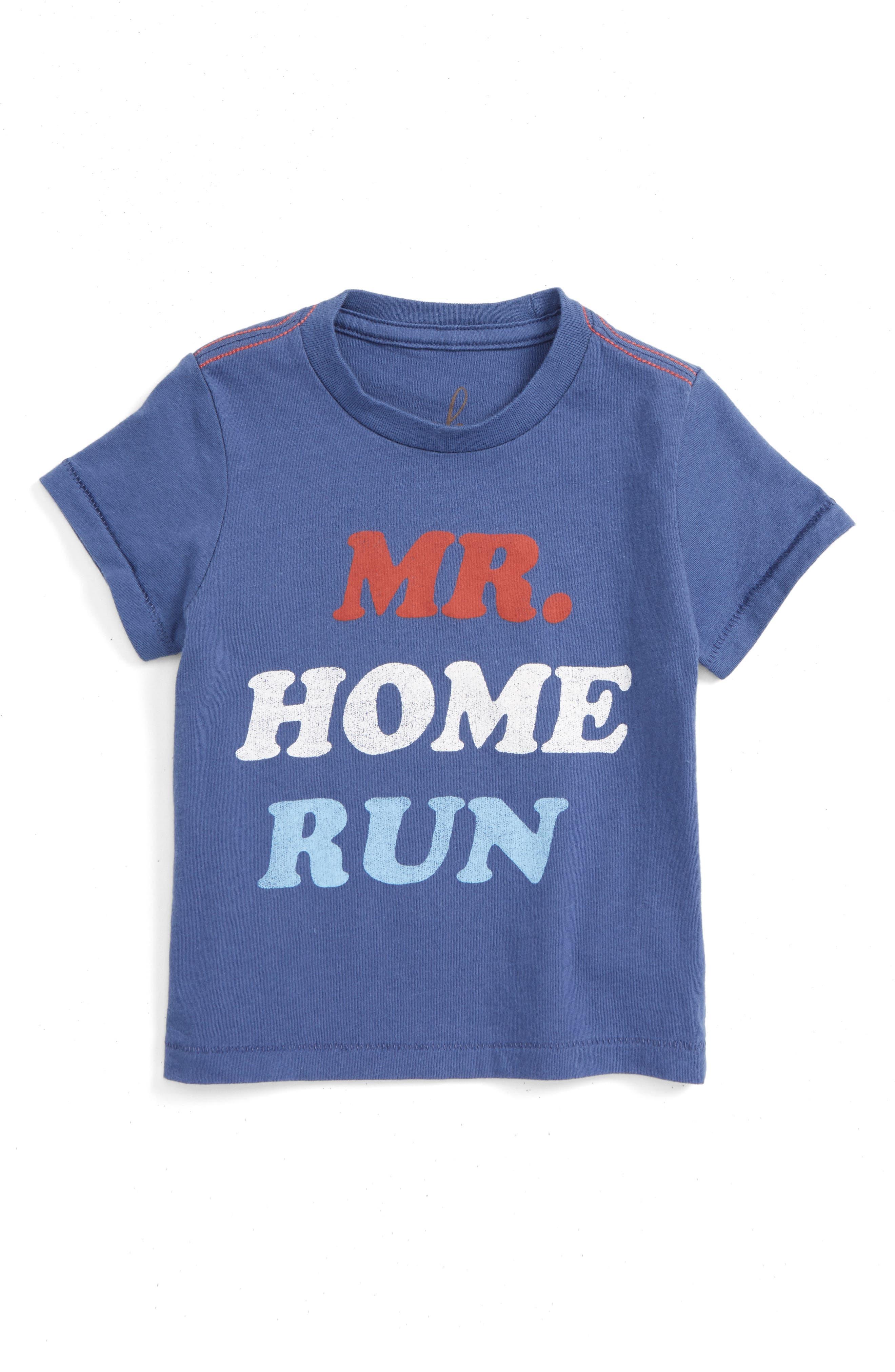 Alternate Image 1 Selected - Peek Mr. Home Run T-Shirt (Baby Boys)