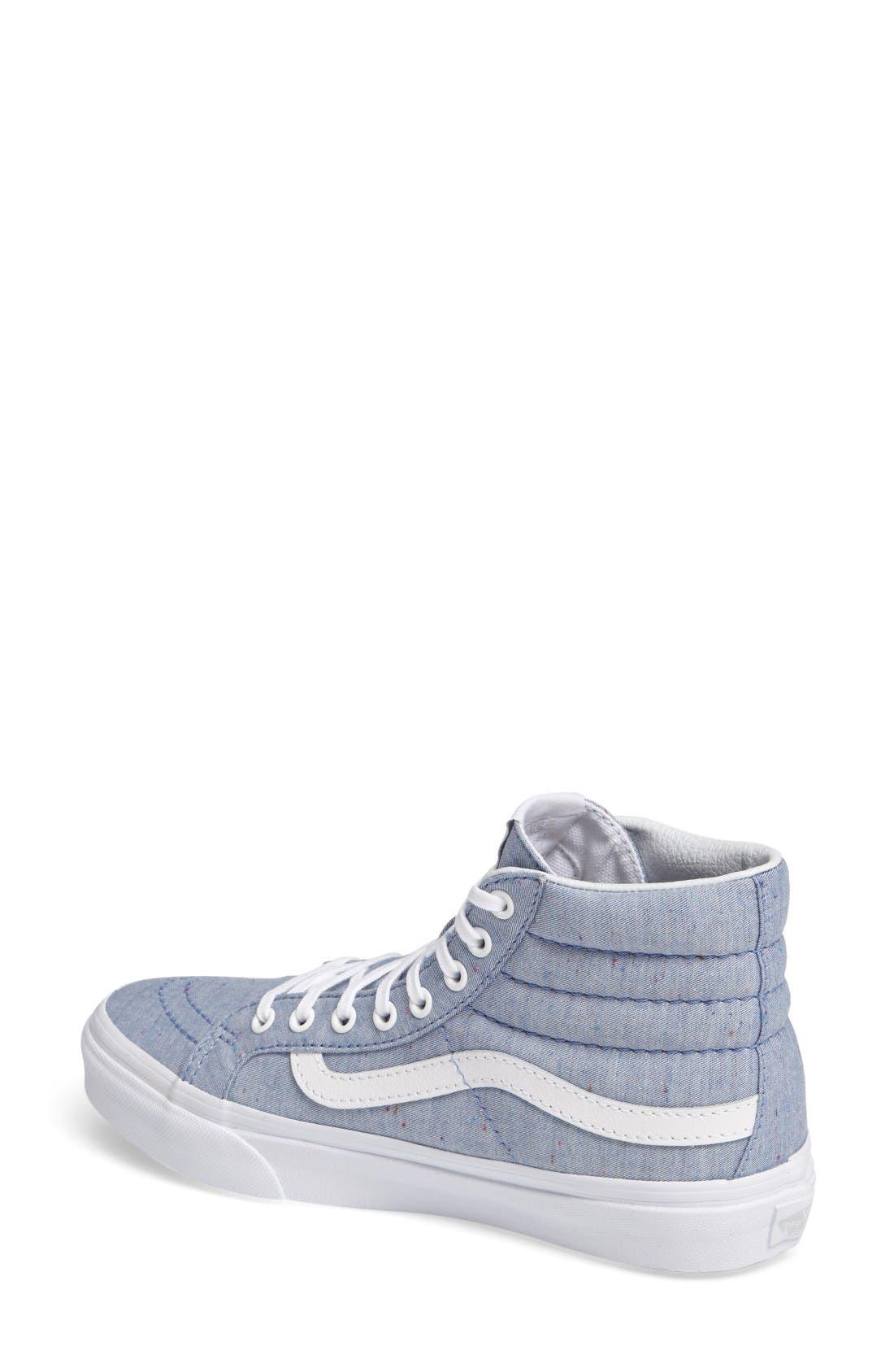 Alternate Image 2  - Vans Sk-8 Hi Slim Sneaker (Women)