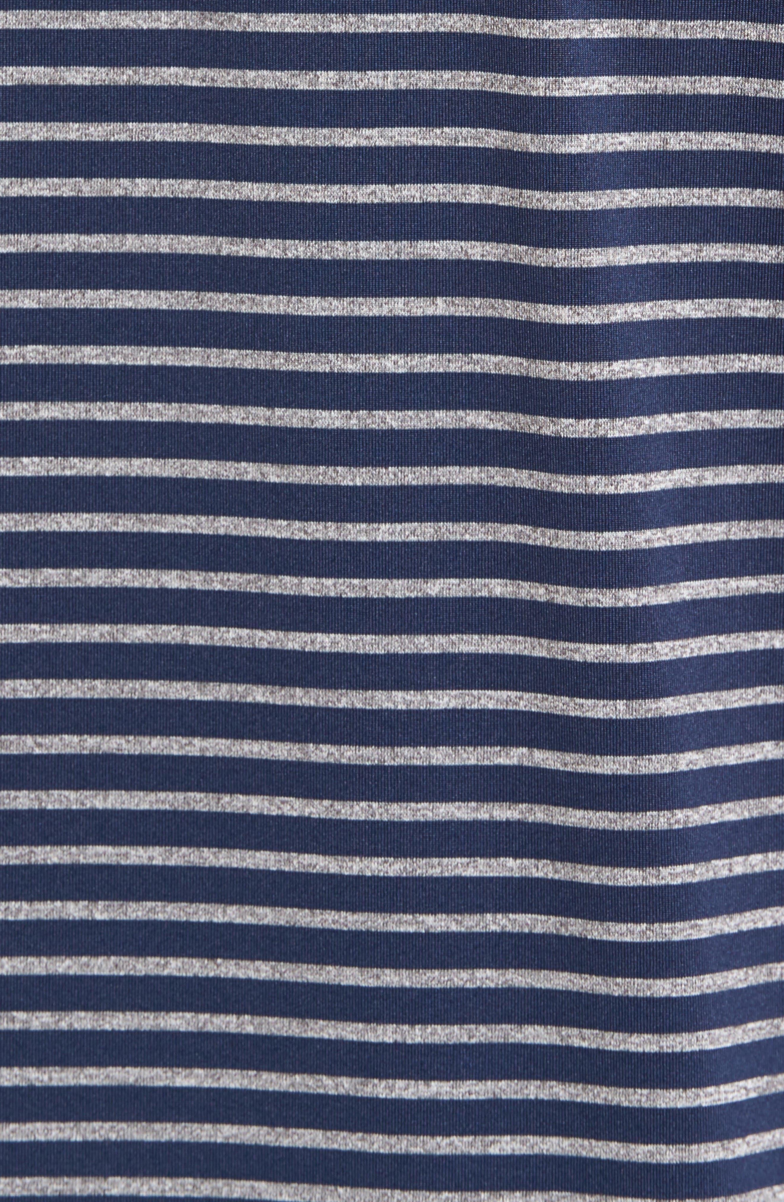 Alternate Image 5  - Bobby Jones Control Stripe Jersey Polo