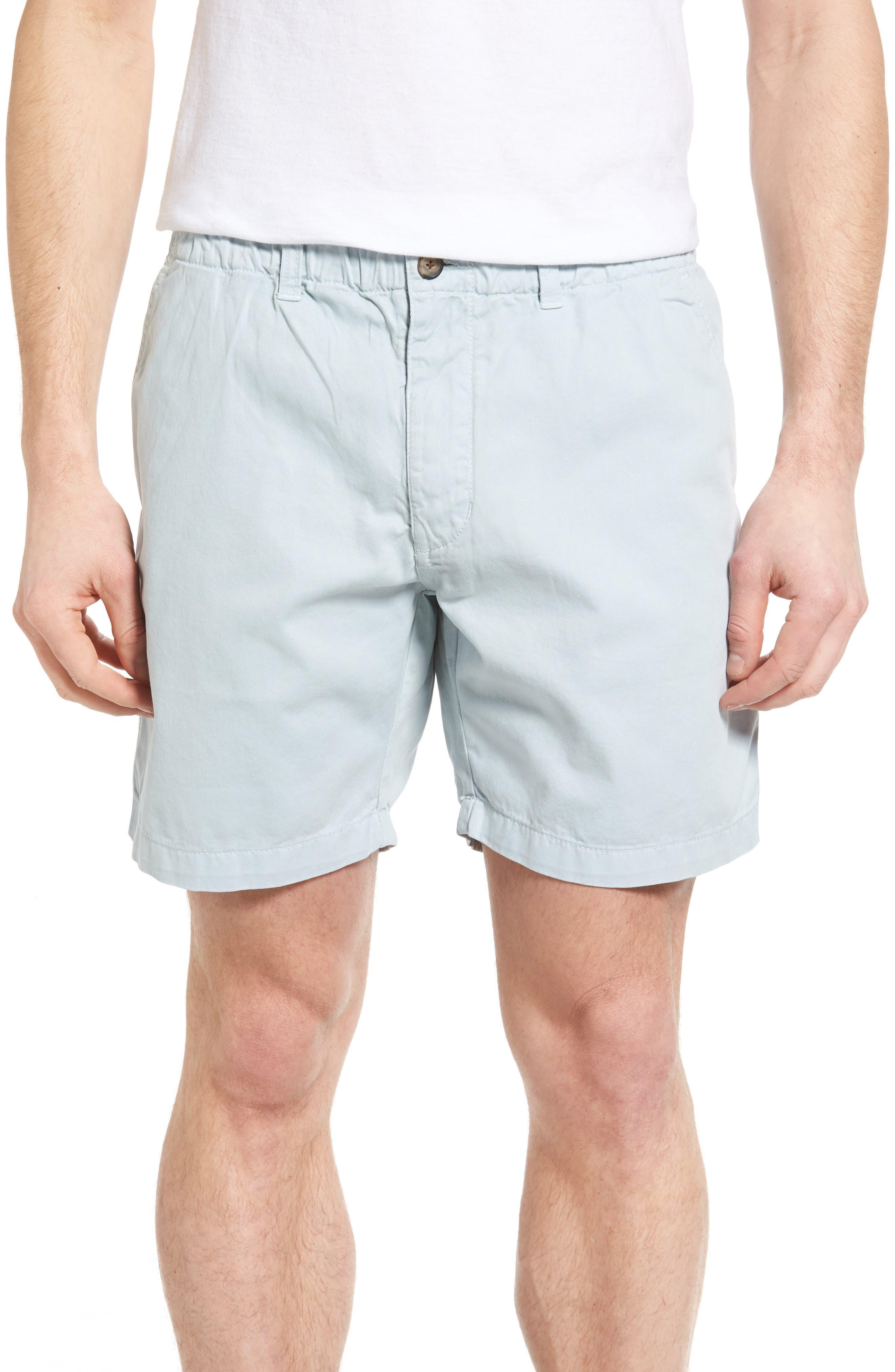 Washed Shorts,                             Main thumbnail 1, color,                             Sky