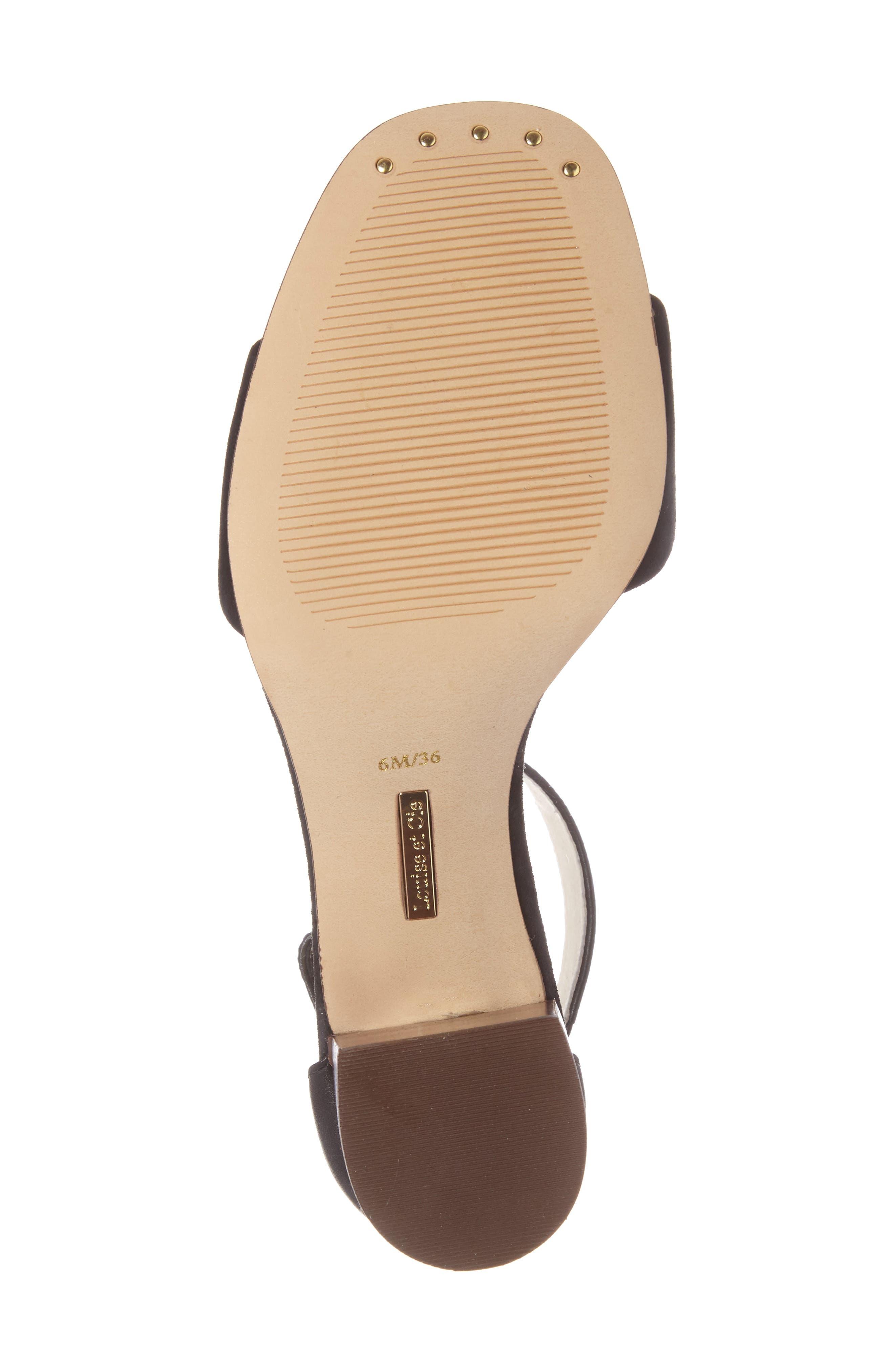 Alternate Image 4  - Louise et Cie Kambria Block Heel Sandal (Women)