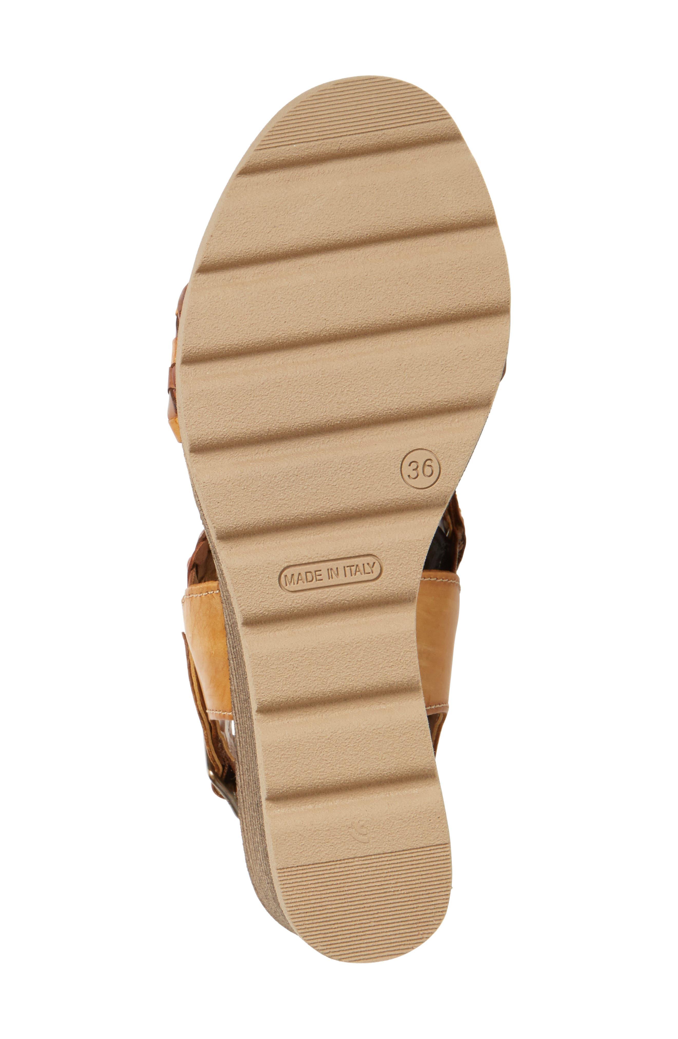 Alternate Image 4  - Napa Flex Cool Wedge Sandal (Women)