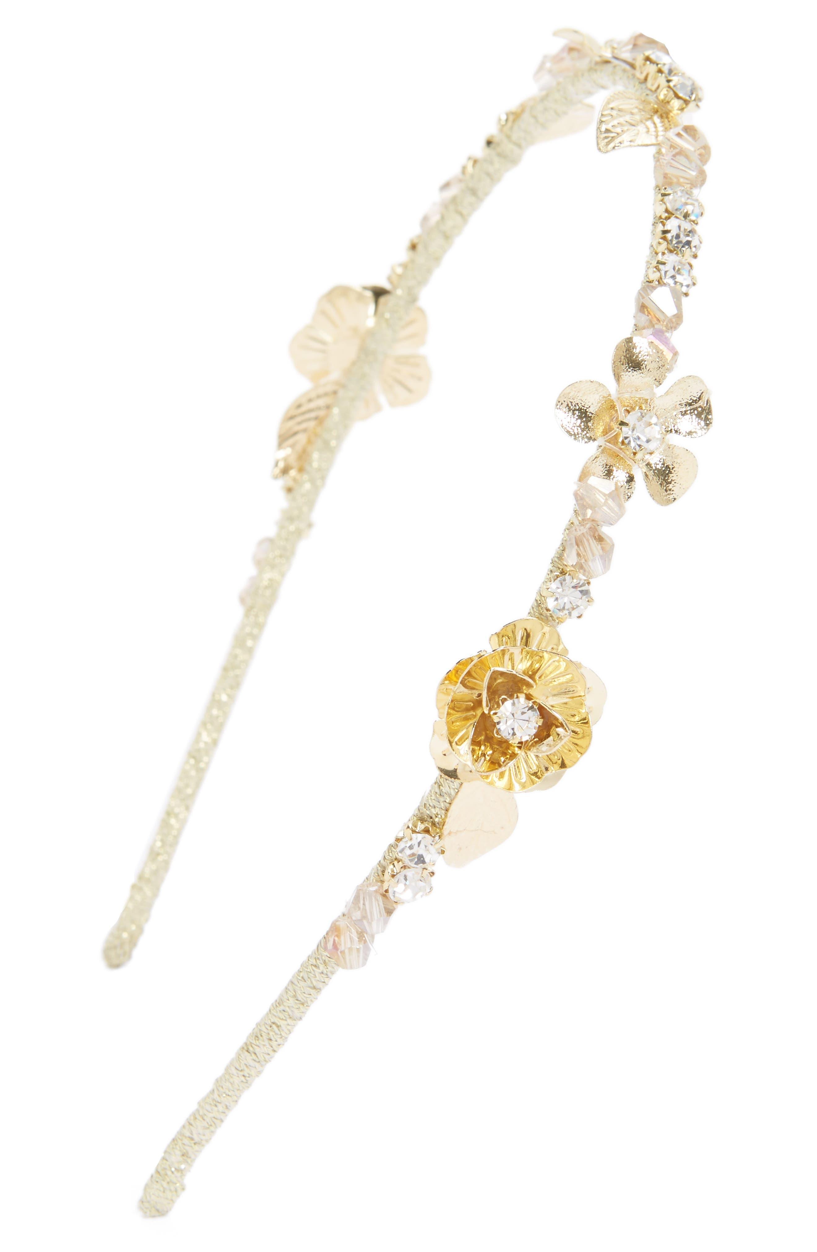 Main Image - Cara Floral Headband