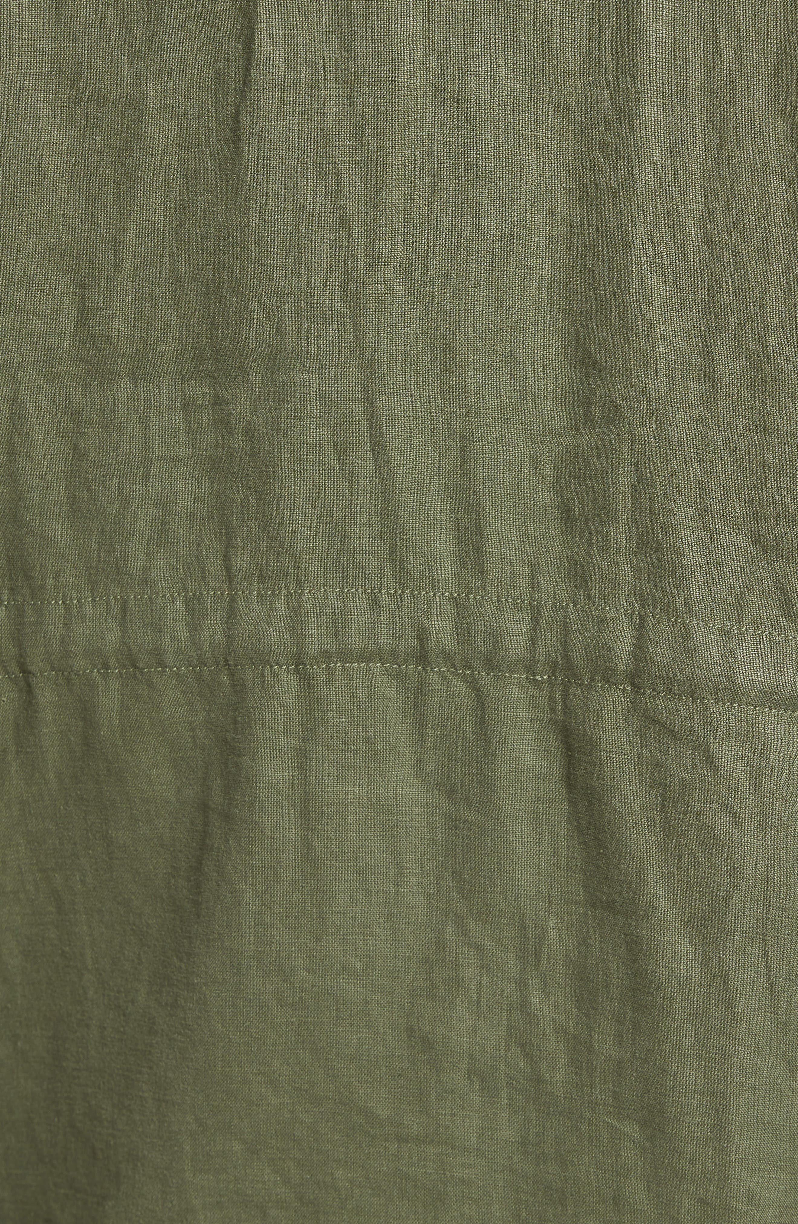 Alternate Image 5  - Tommy Bahama Harbor Linen Hooded Jacket