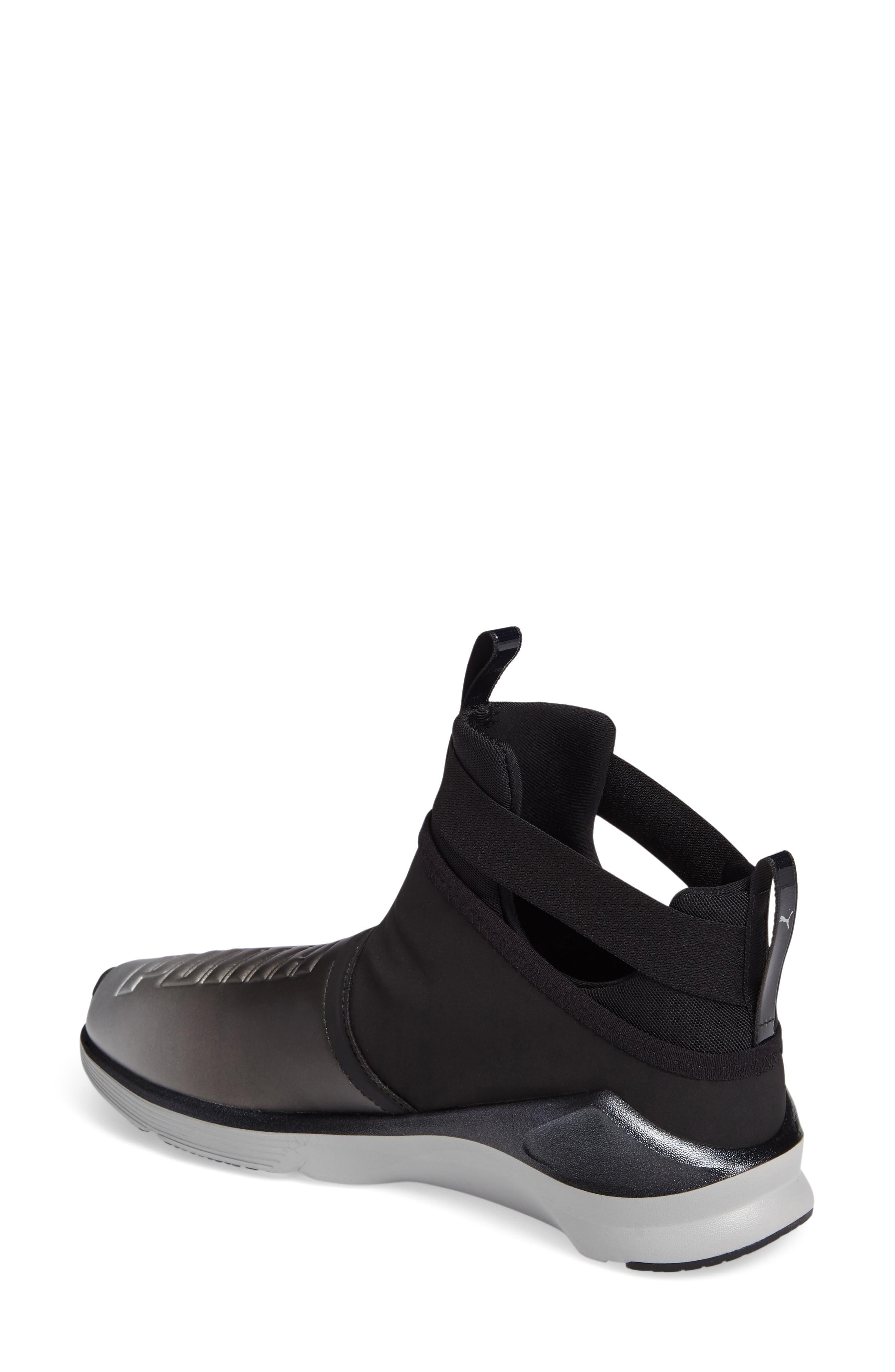 Alternate Image 2  - PUMA Fierce High Top Sneaker (Women)