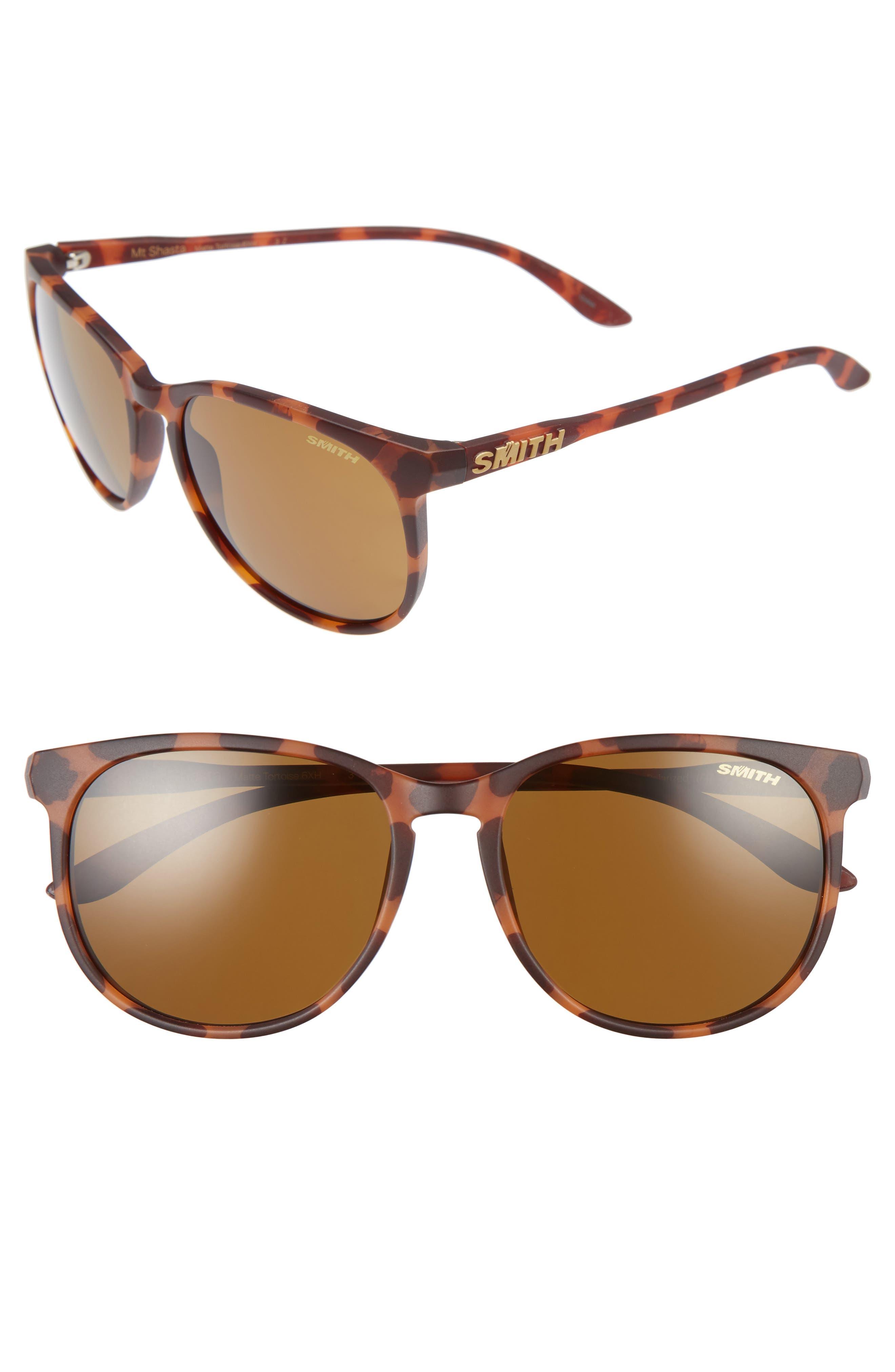 Smith Mt. Shasta 55mm Polarized Keyhole Sunglasses