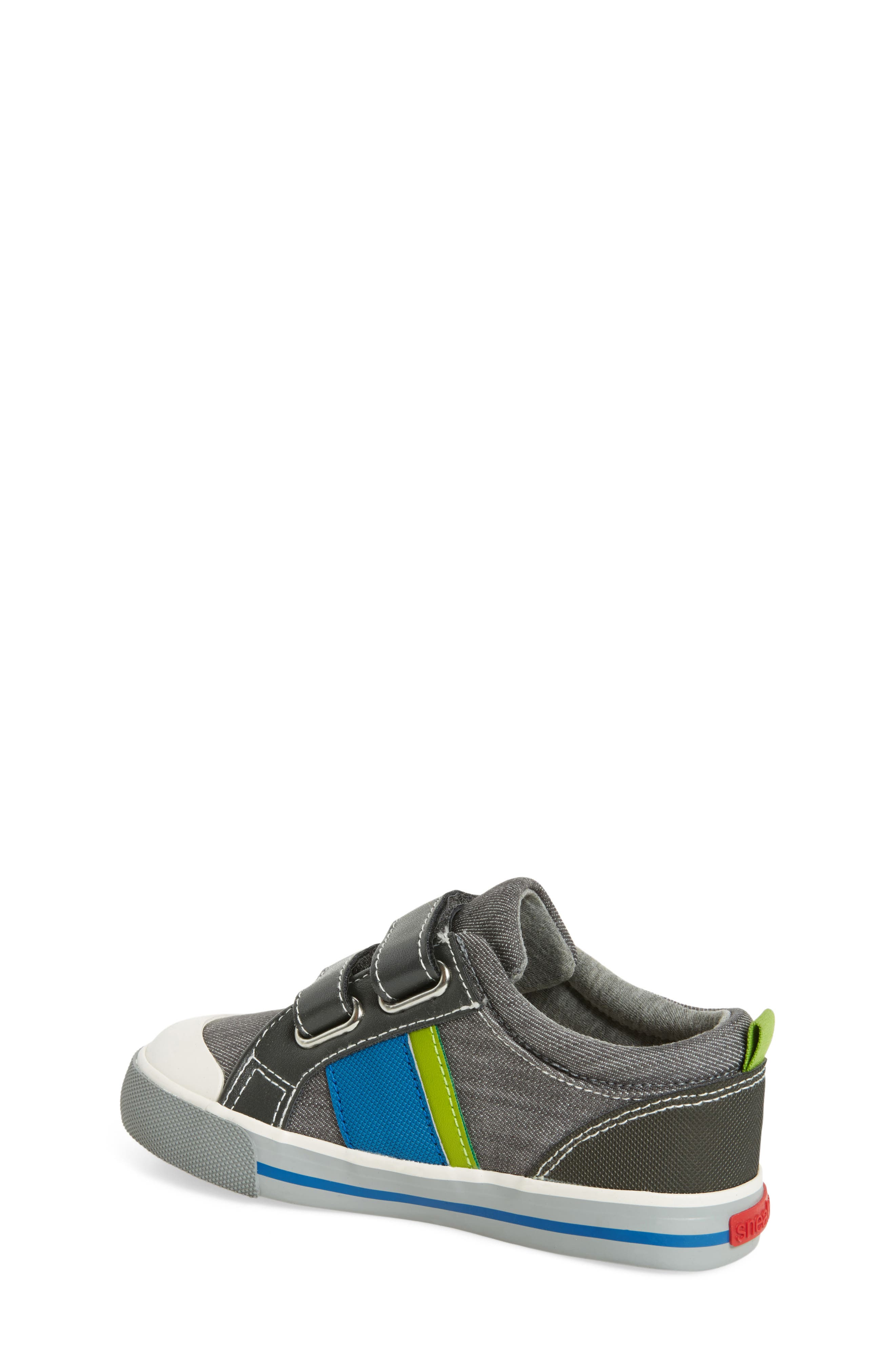 Russell Sneaker,                             Alternate thumbnail 2, color,                             Grey Denim