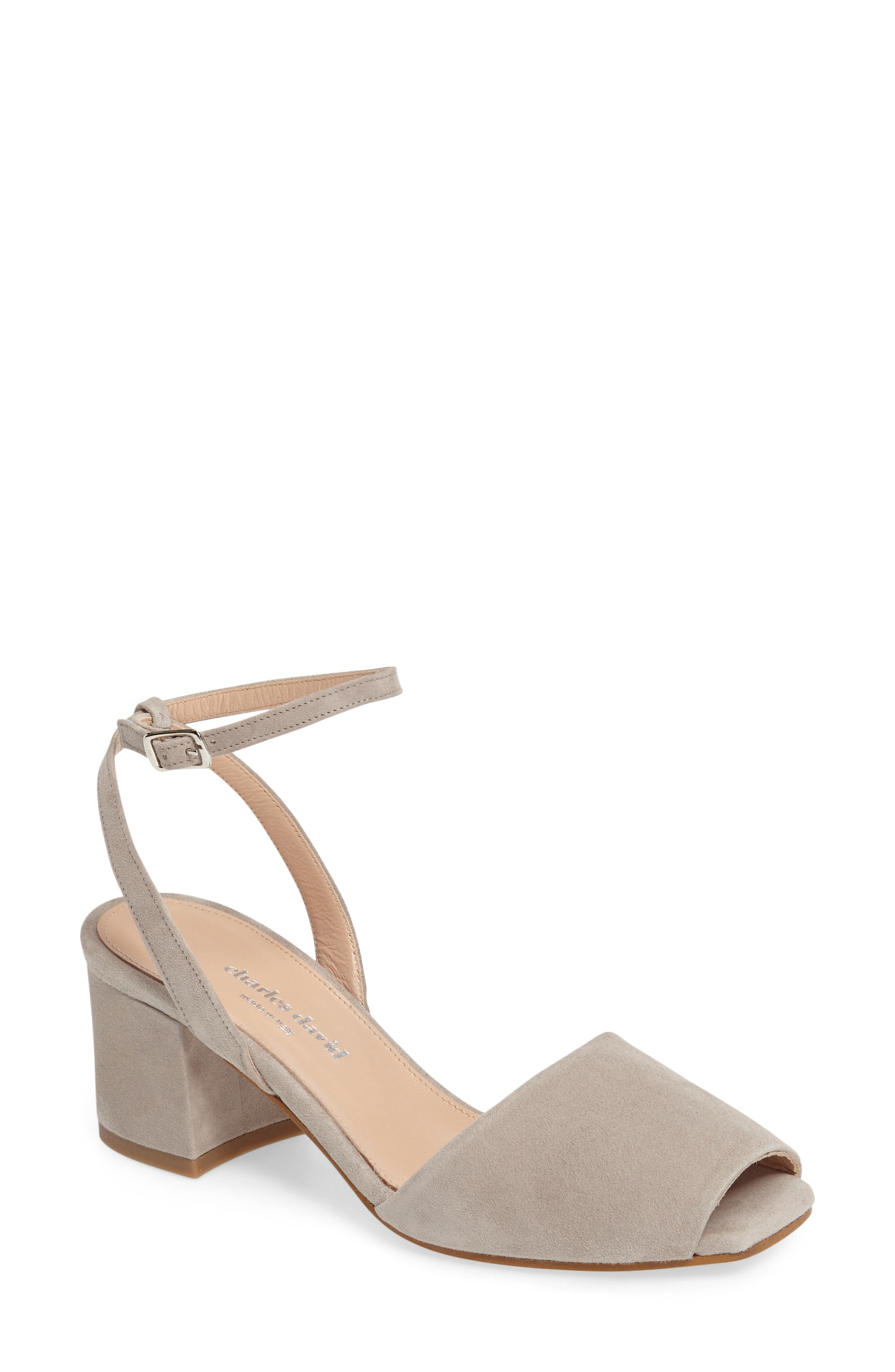 Alternate Image 1 Selected - Charles David Cube Sandal (Women)