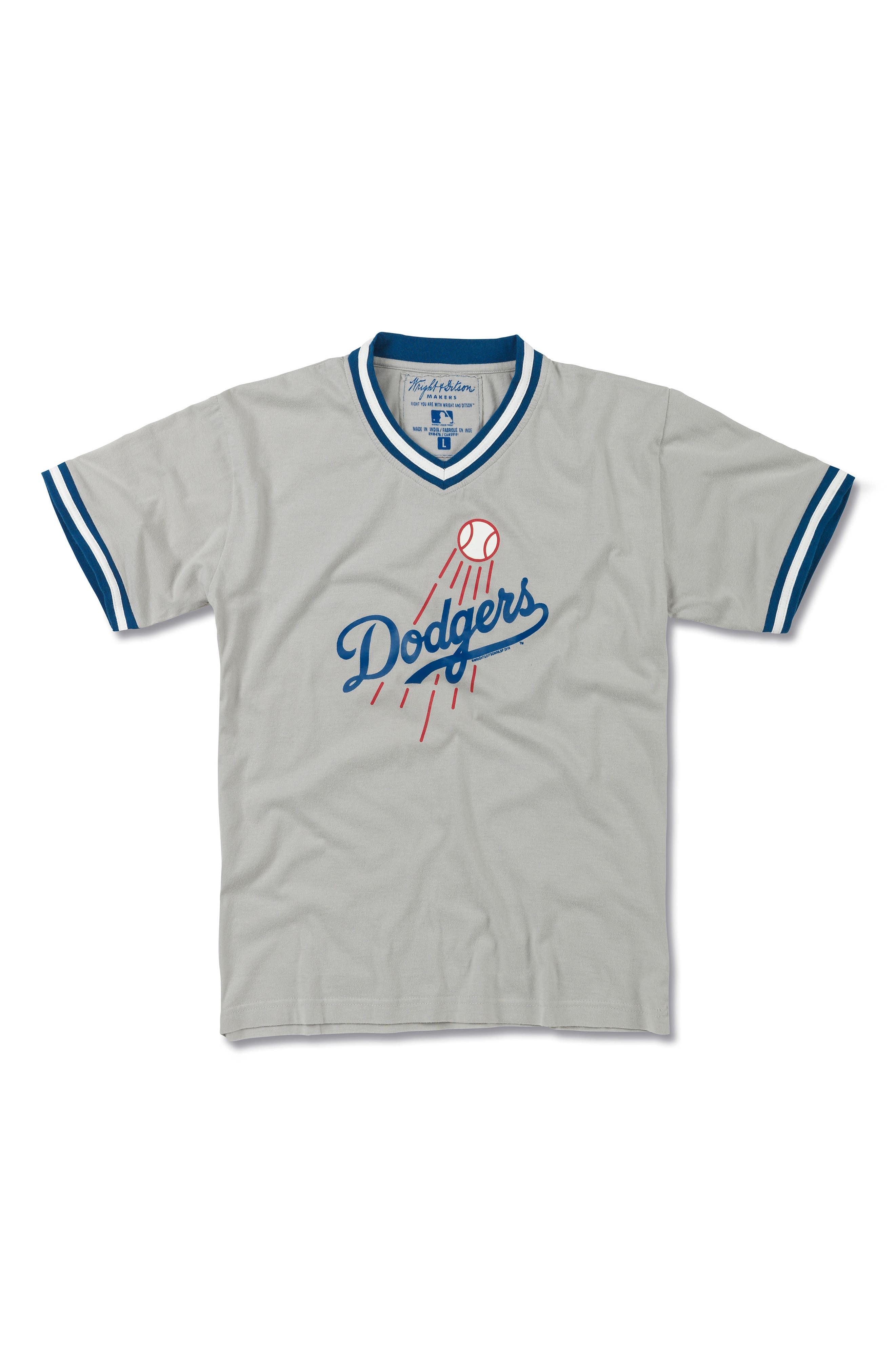 Main Image - Wright & Ditson Los Angeles Dodgers T-Shirt (Little Boys & Big Boys)