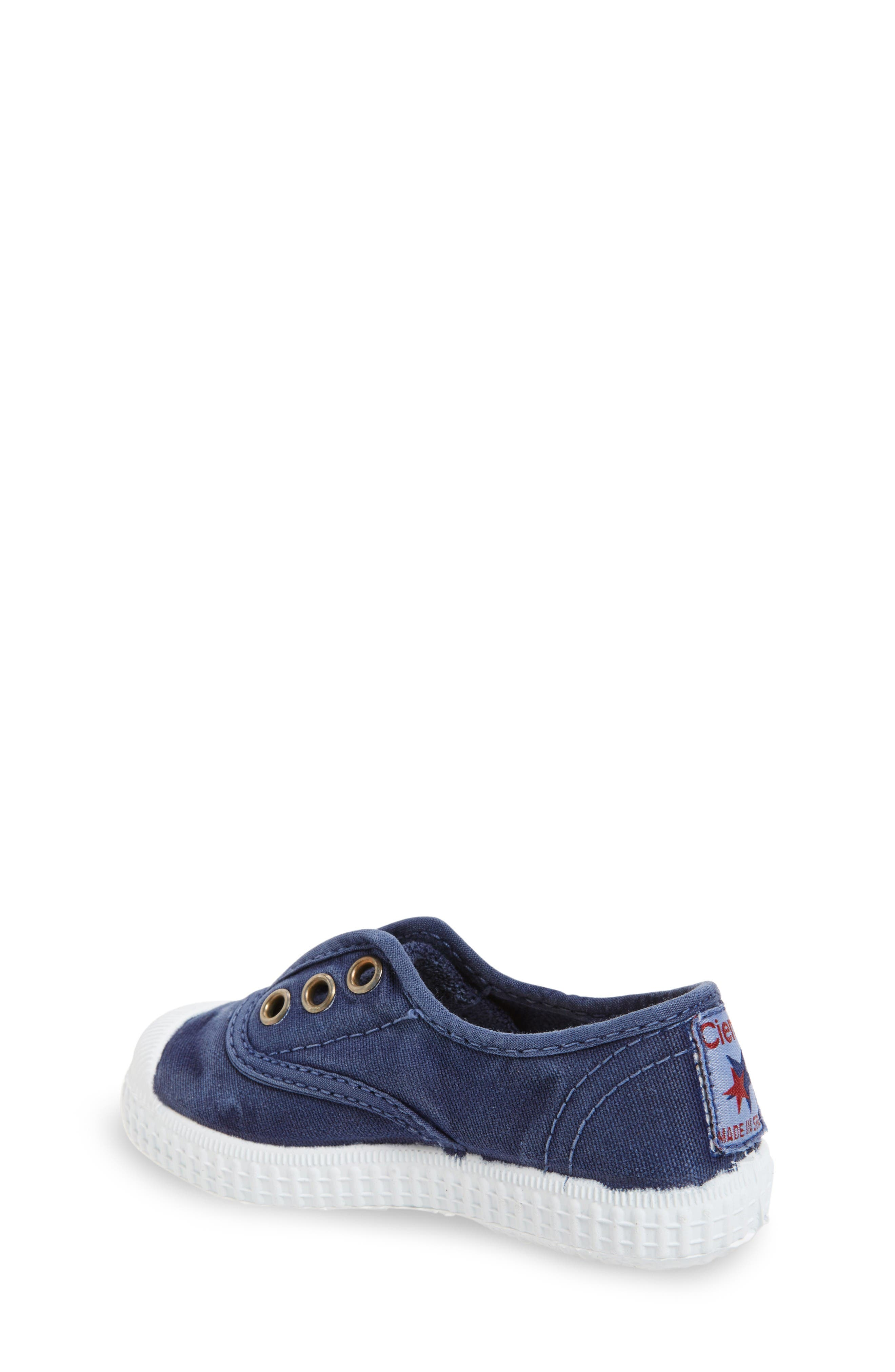 Laceless Slip-On Sneaker,                             Alternate thumbnail 2, color,                             Navy