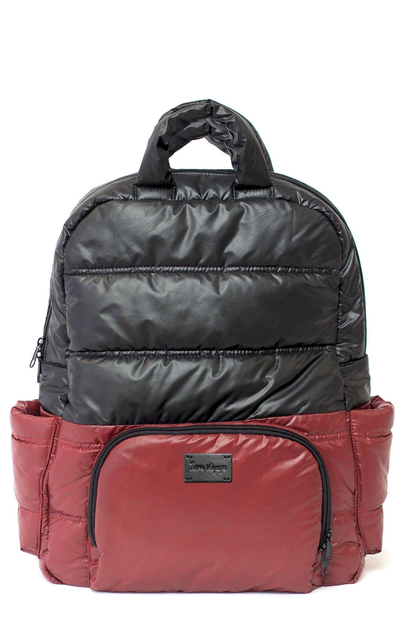 Alternate Image 1 Selected - 7 A.M. Enfant BK718 Water Repellent Diaper Backpack